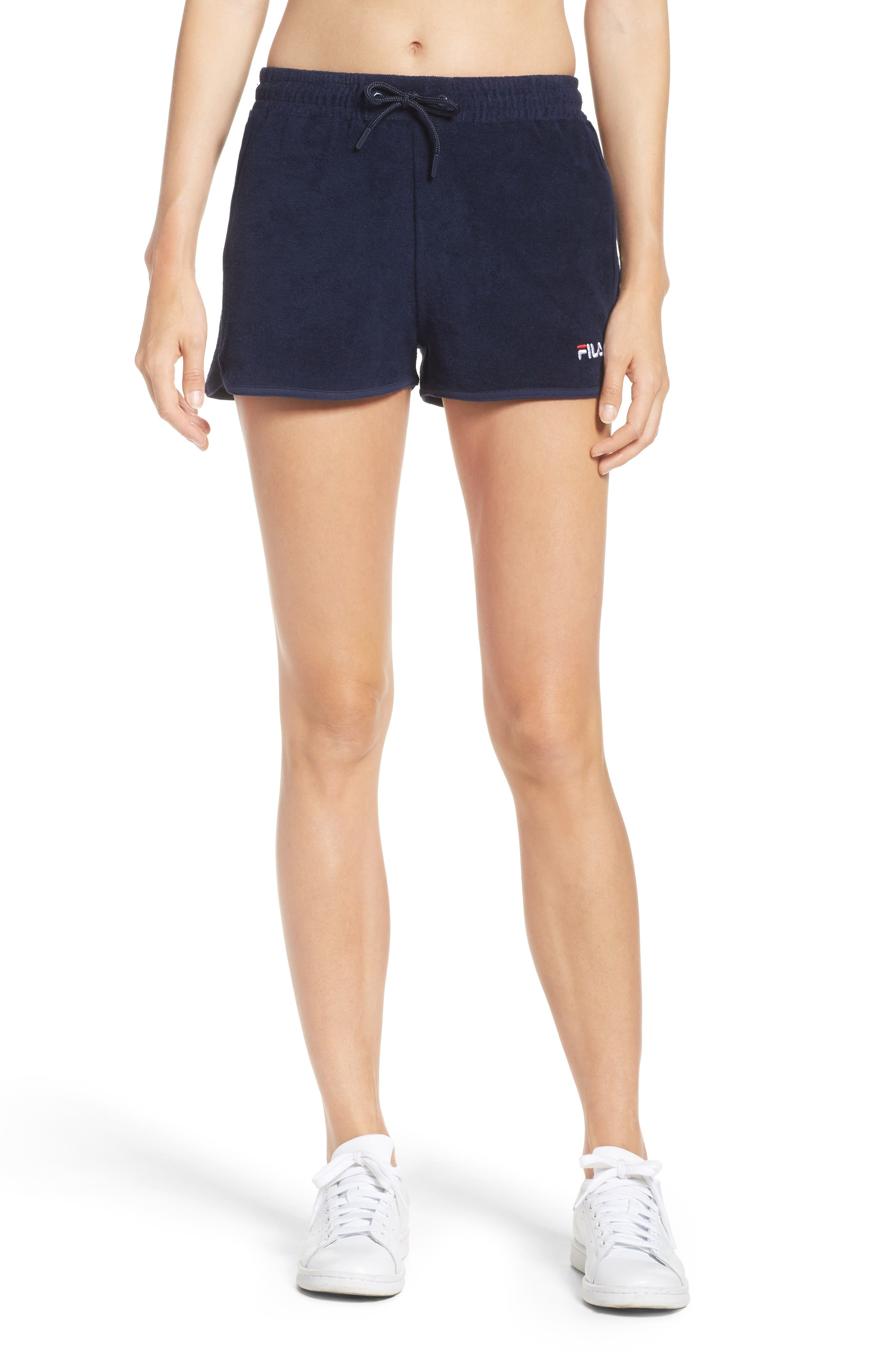Follie Shorts,                         Main,                         color, Peacoat