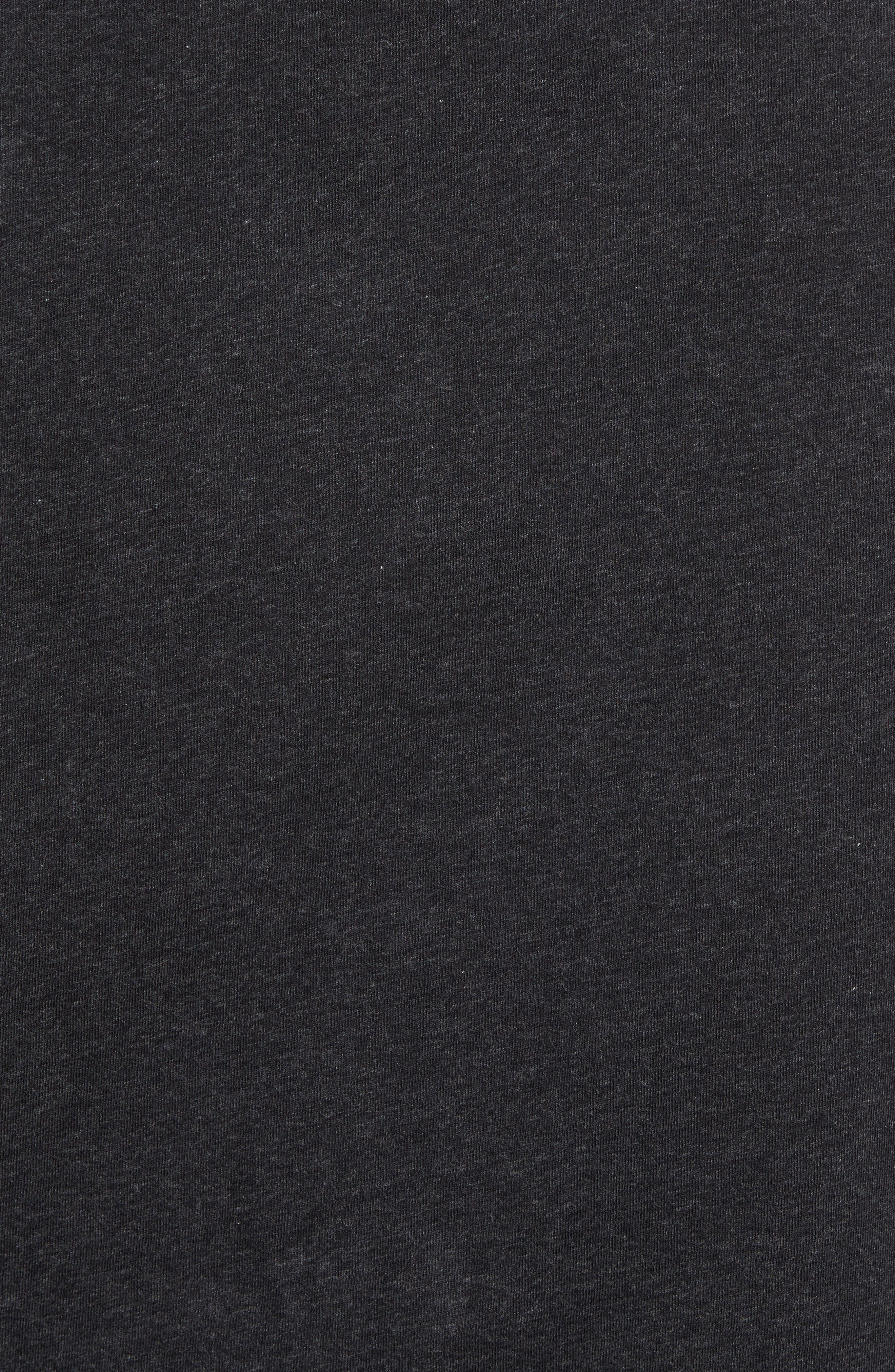 The Gunn T-Shirt,                             Alternate thumbnail 5, color,                             Charcoal