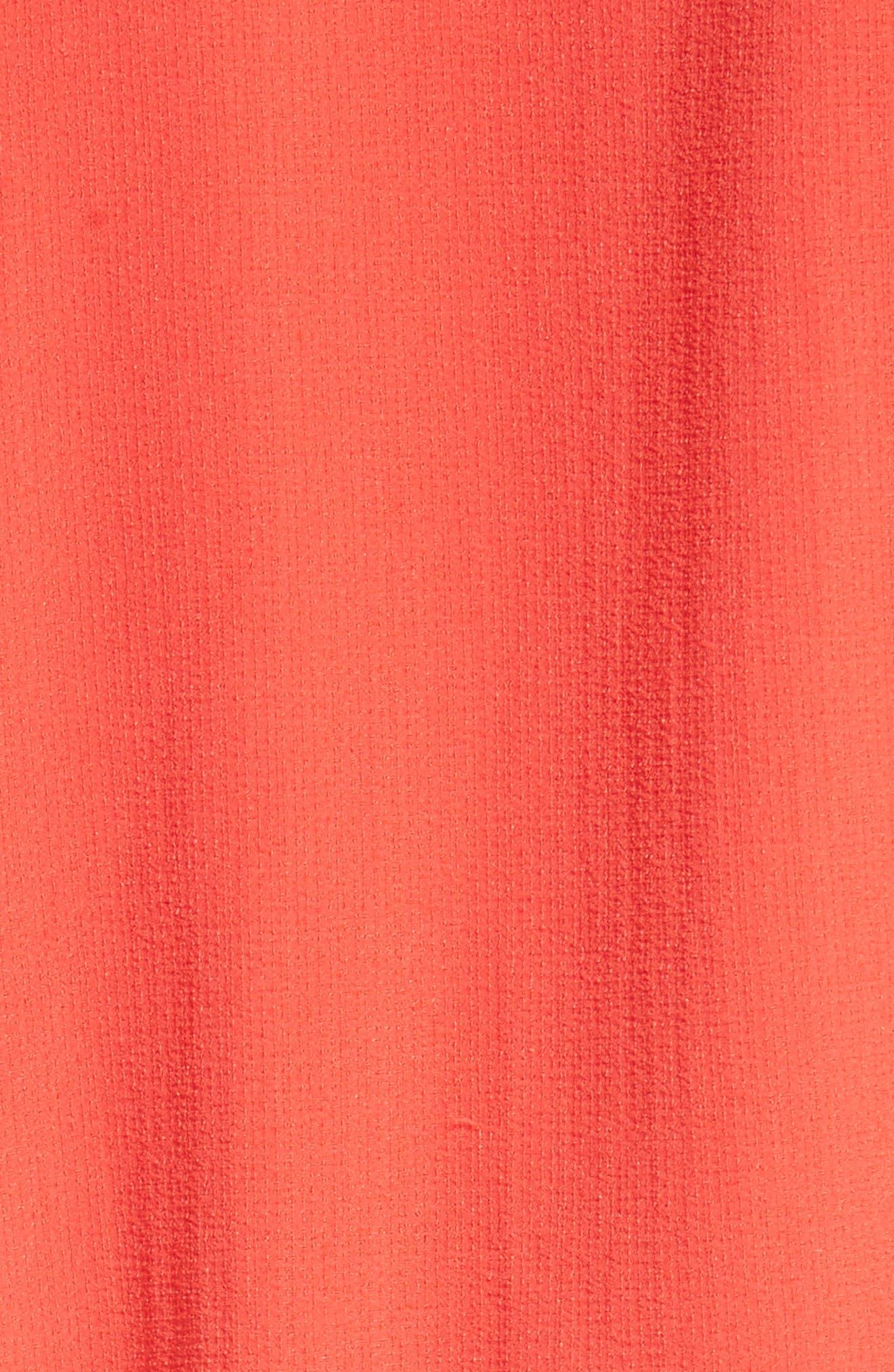 Aulani Shift Dress,                             Alternate thumbnail 5, color,                             Lipstick