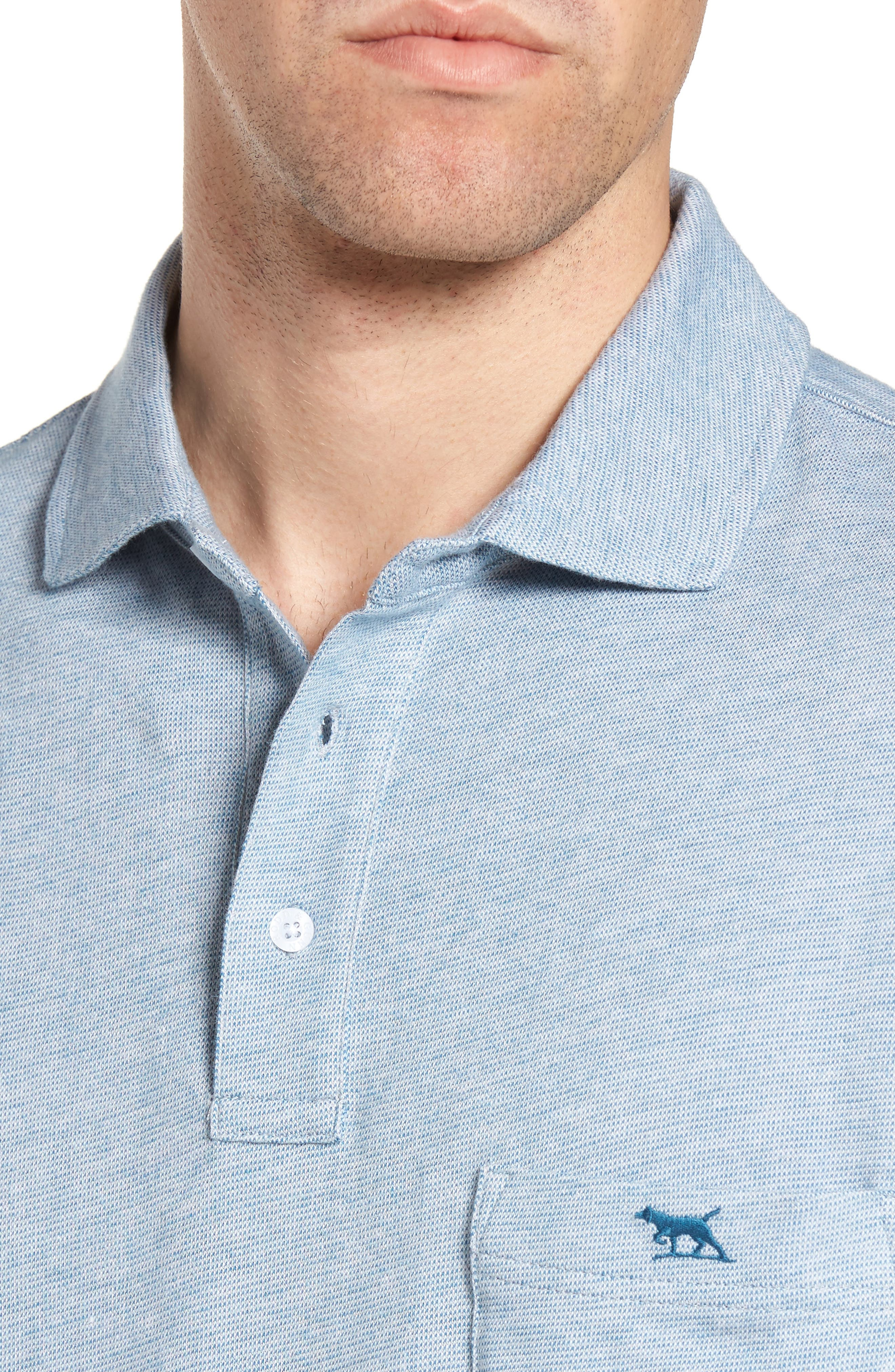 Alternate Image 4  - Rodd & Gunn Cornwall Original Fit Cotton Polo