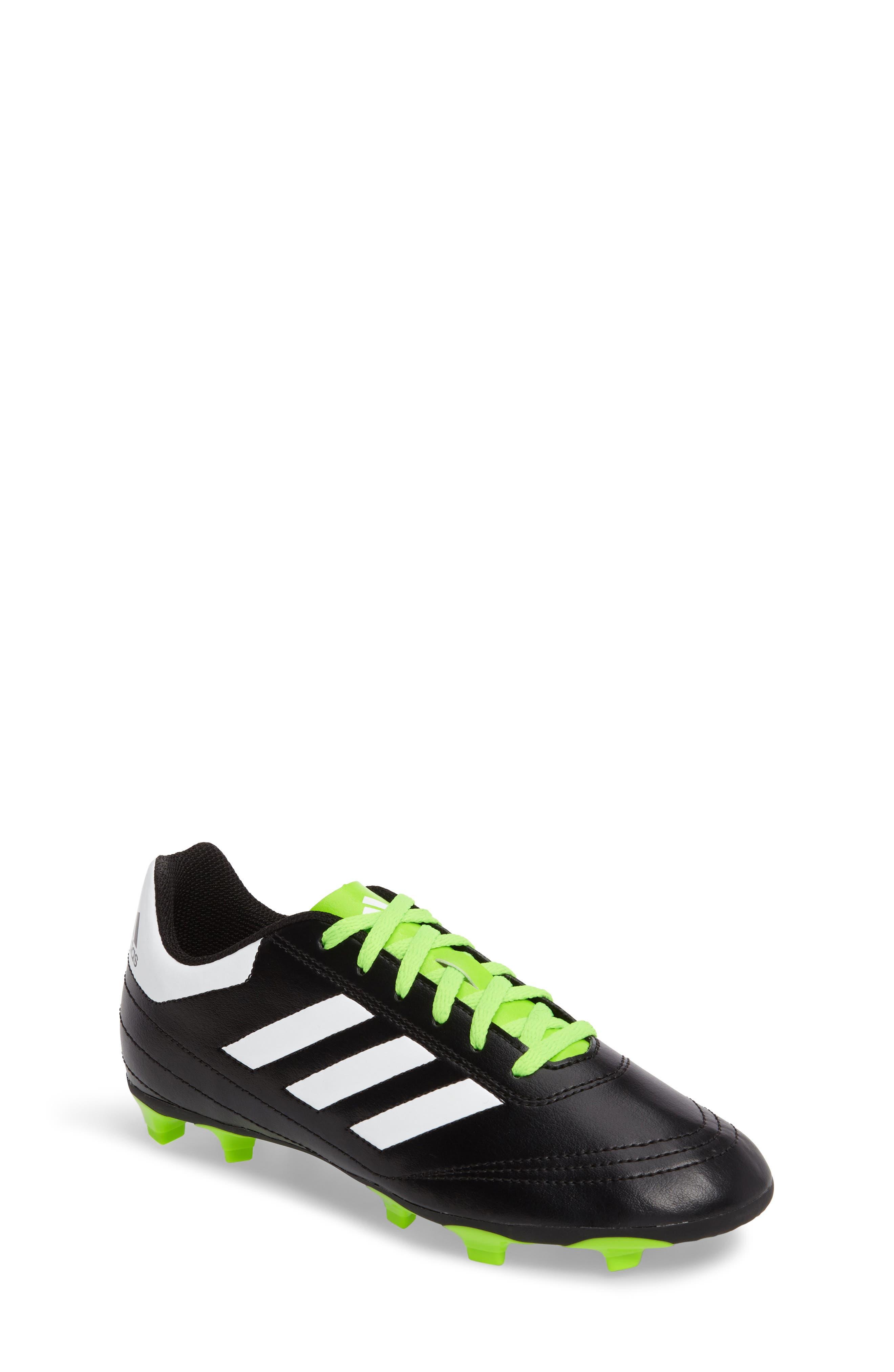Alternate Image 1 Selected - adidas Goletto VI Soccer Shoe (Toddler, Little Kid & Big Kid)