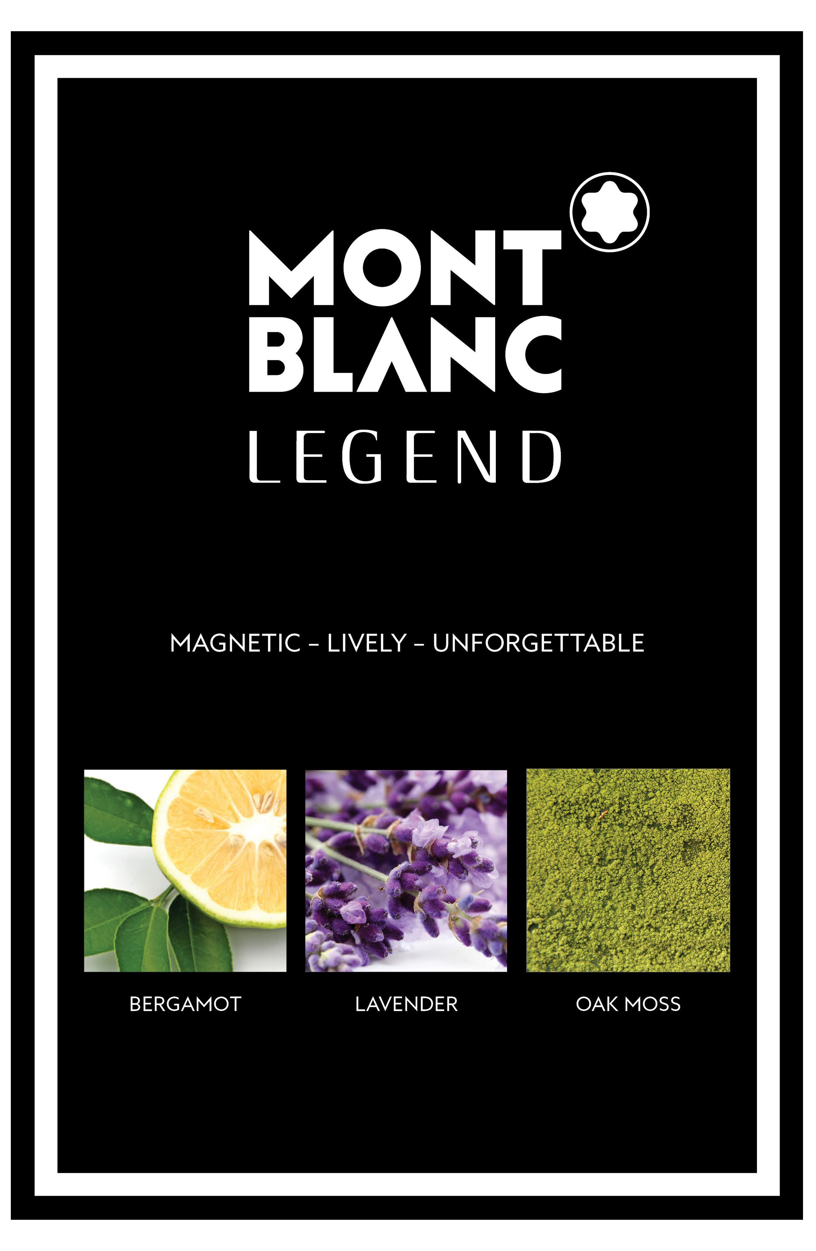 Alternate Image 3  - MONTBLANC 'Legend' Eau de Toilette