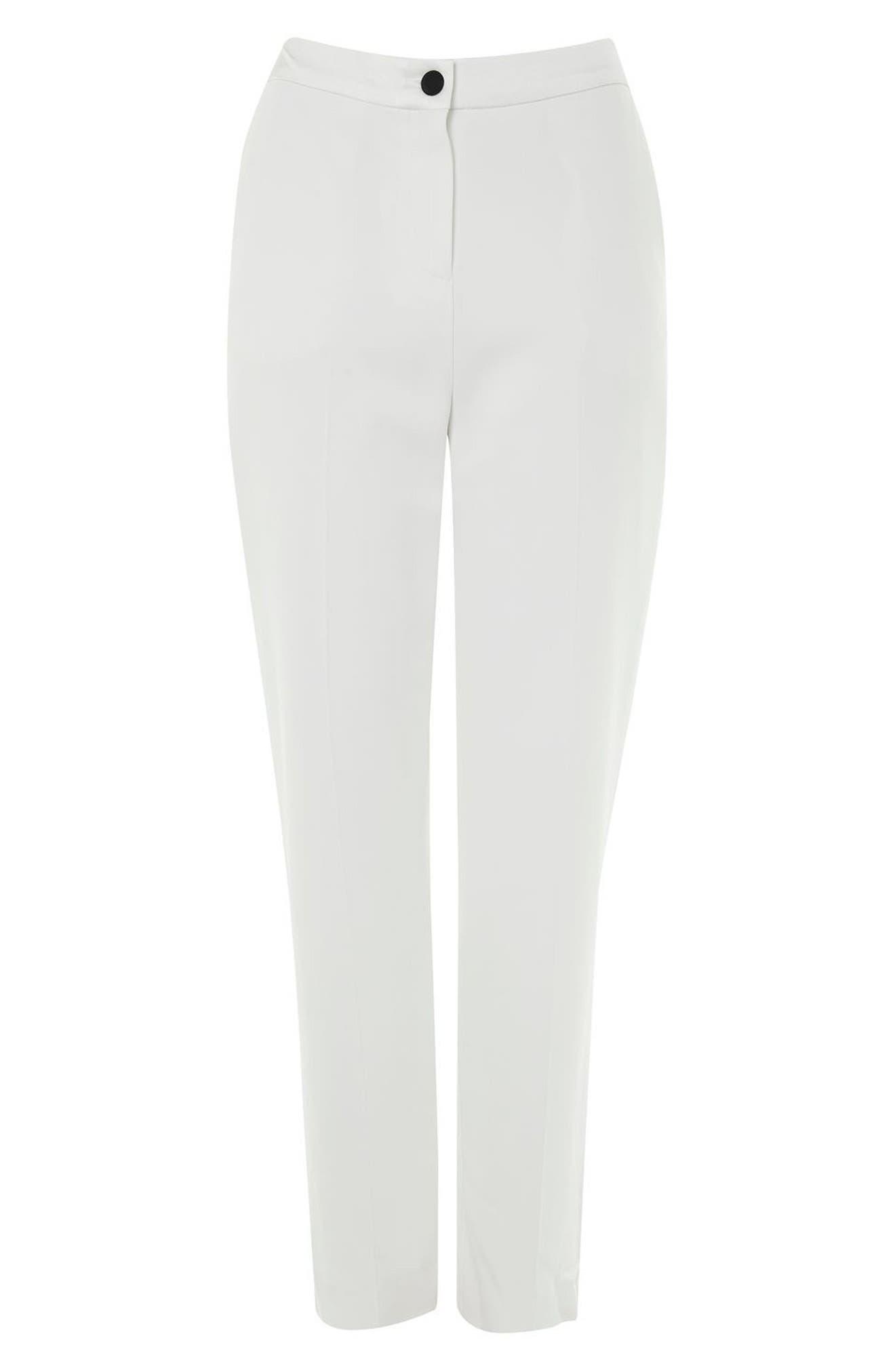Alternate Image 4  - Topshop Tux Suit Trousers