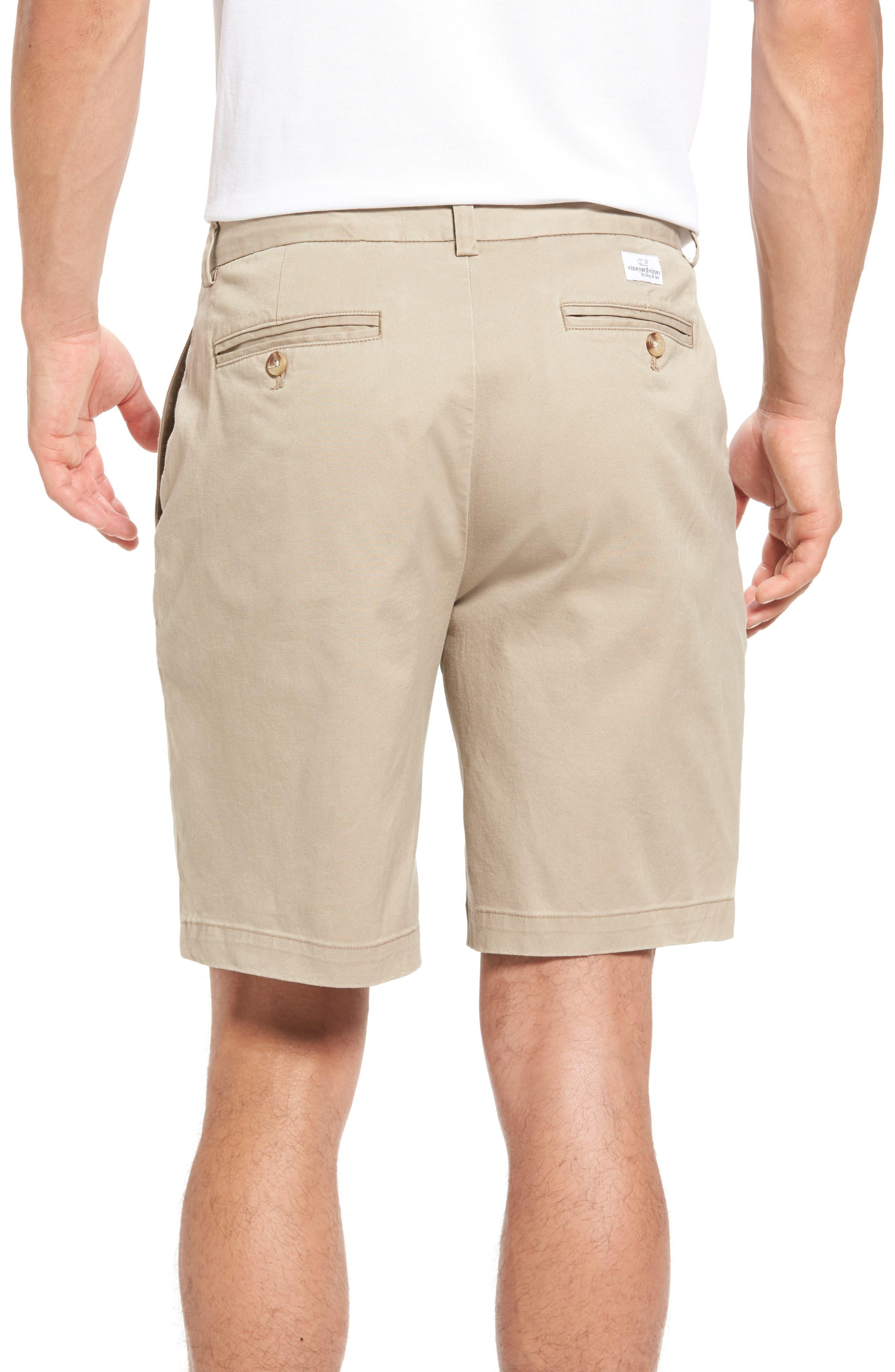 9 Inch Stretch Breaker Shorts,                             Alternate thumbnail 2, color,                             Khaki