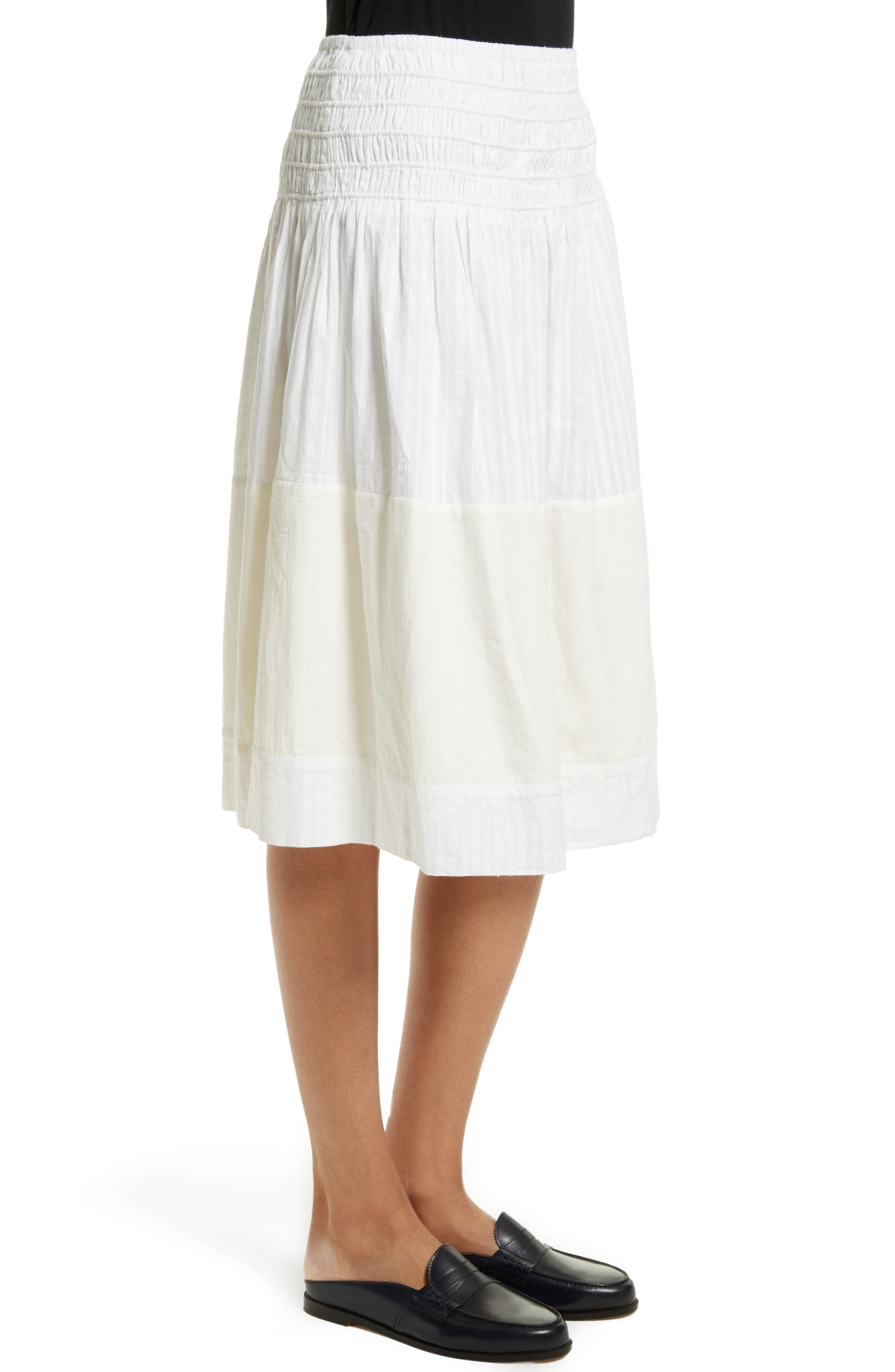 The Afternoon Skirt,                             Alternate thumbnail 4, color,                             Off White