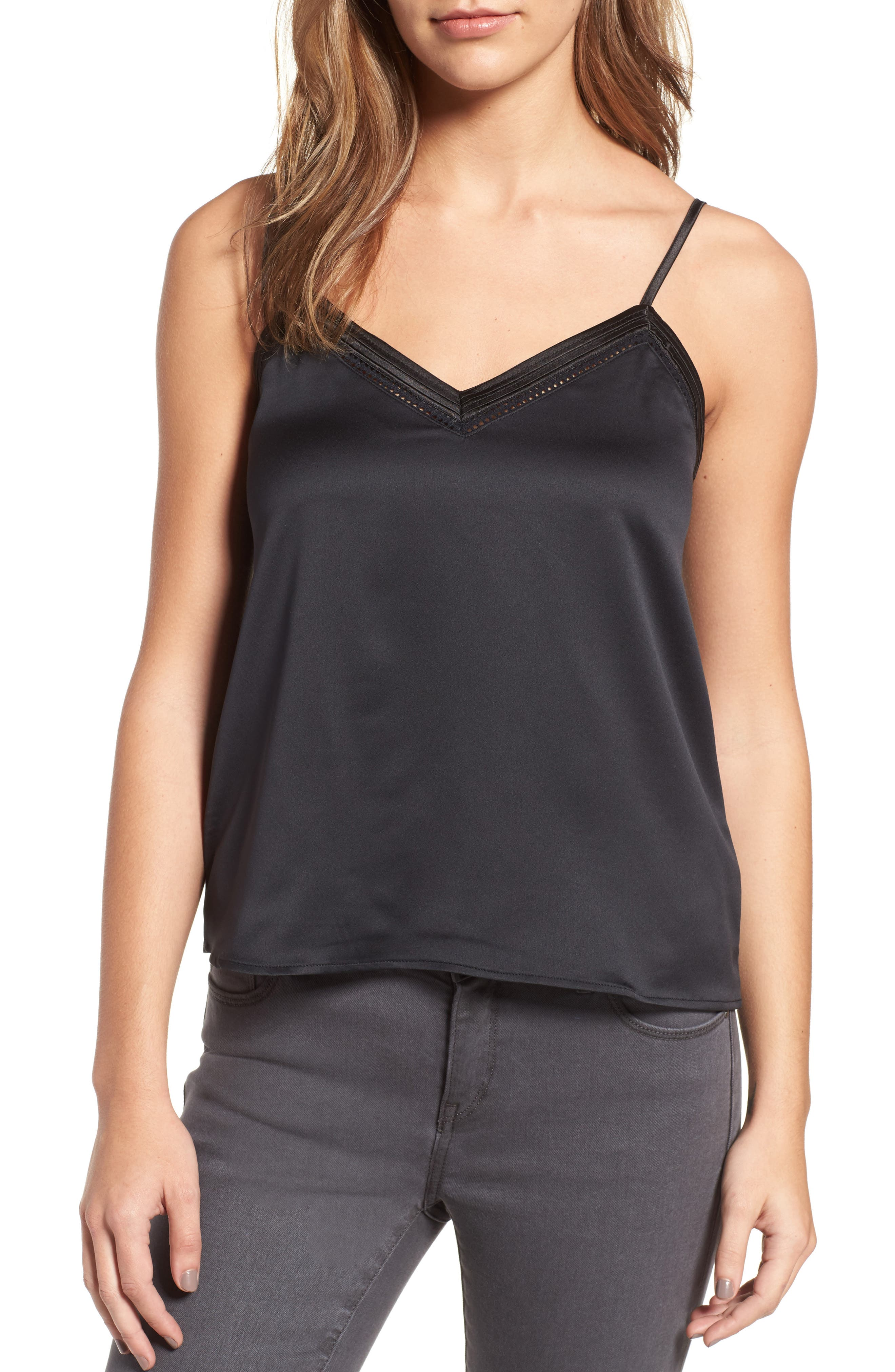 Main Image - Sincerely Jules Satin Camisole