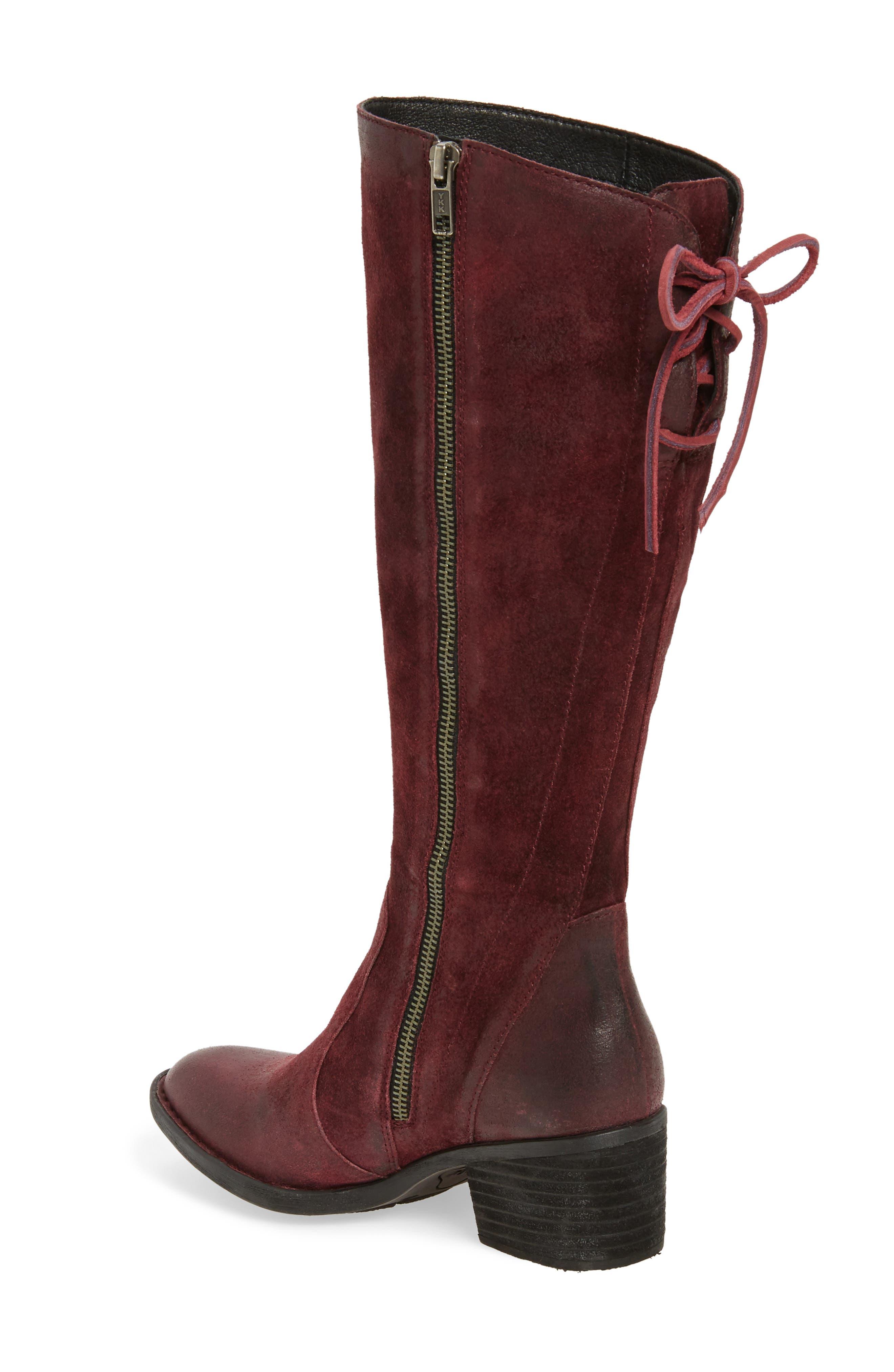 Alternate Image 2  - Børn Felicia Knee High Boot (Women) (Regular & Wide Calf)
