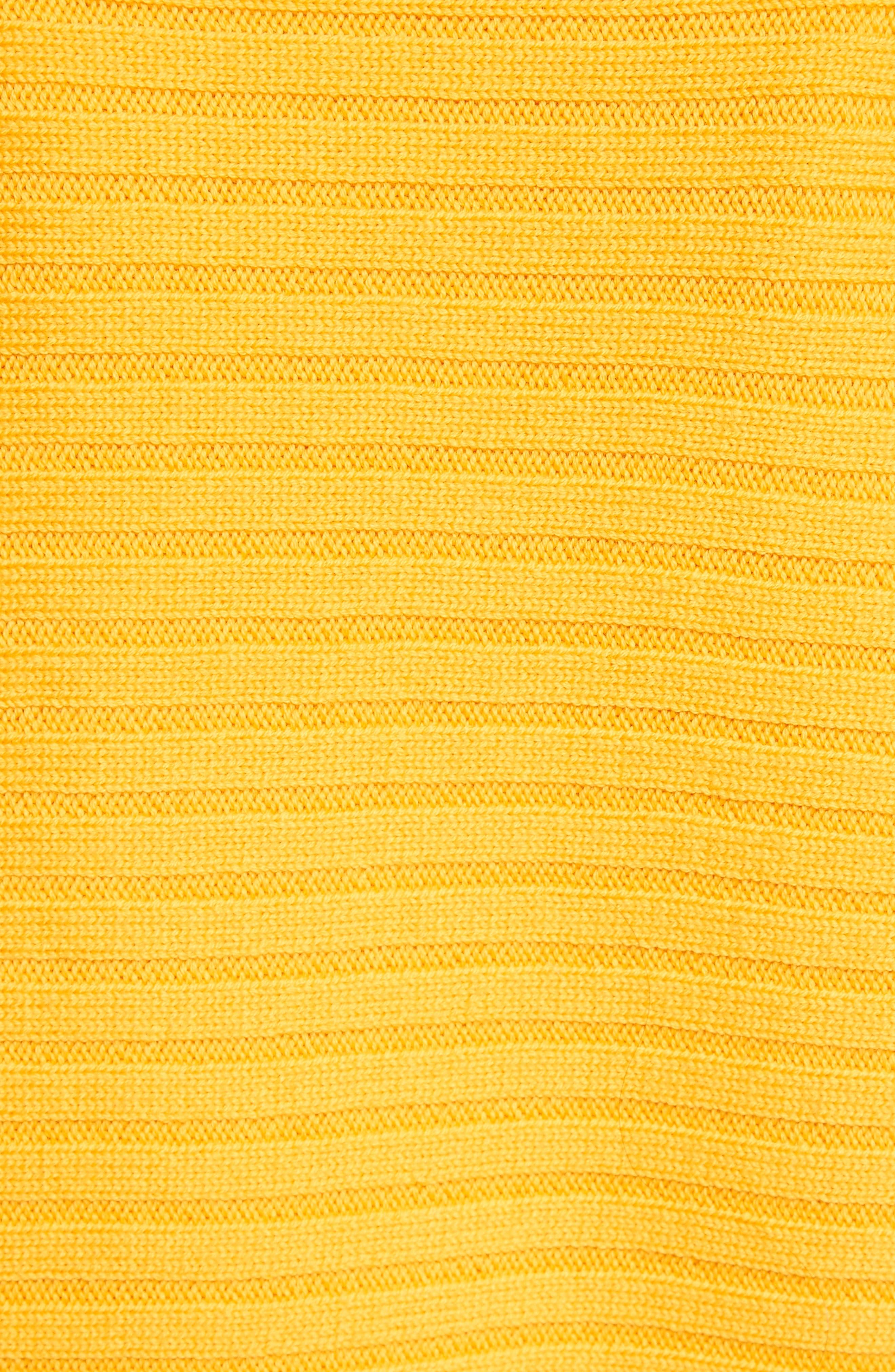 Alternate Image 6  - Tibi Ribbed Wool Sweater