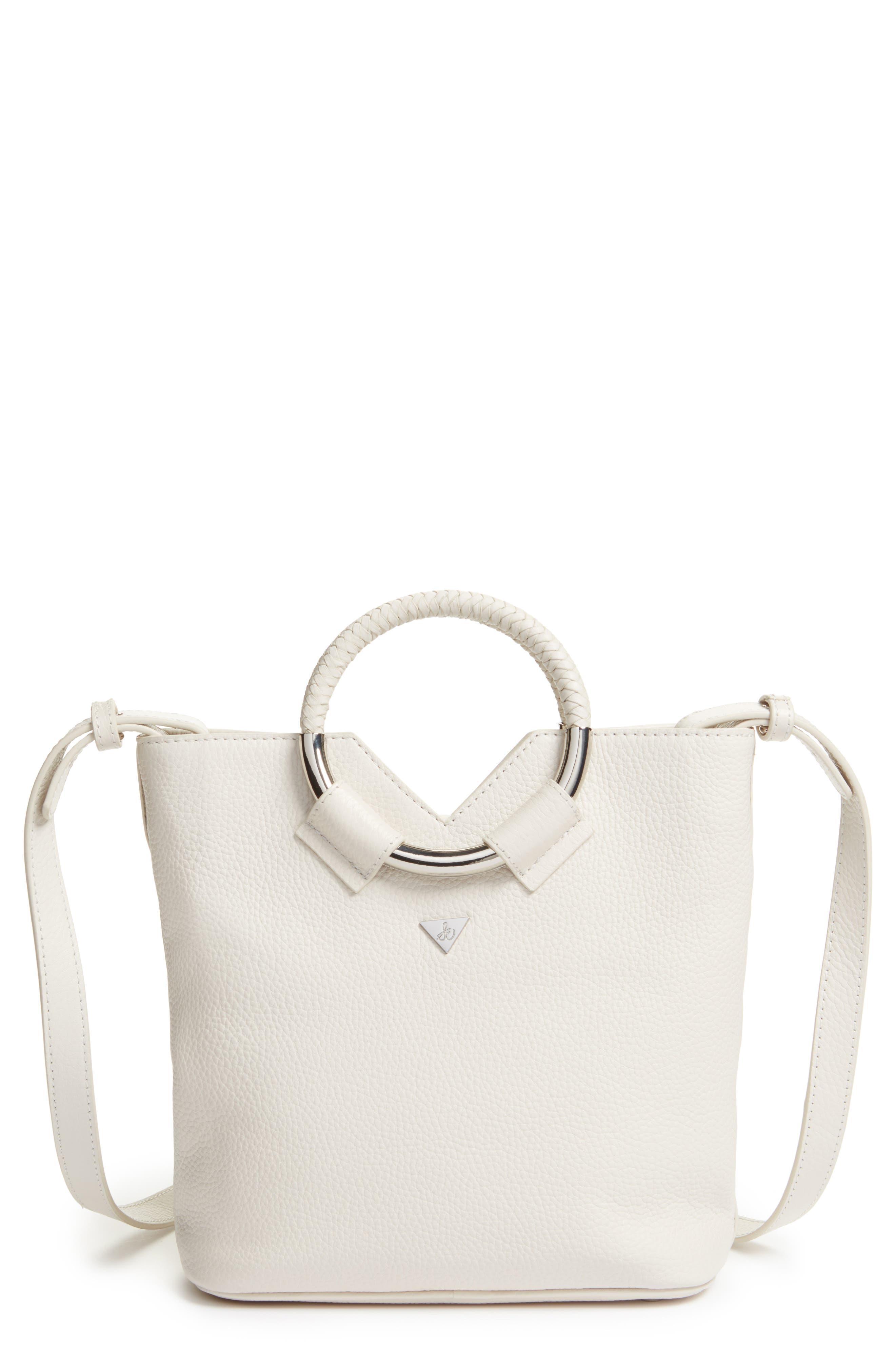 Sam Edelman Small Elina Leather Crossbody Bag