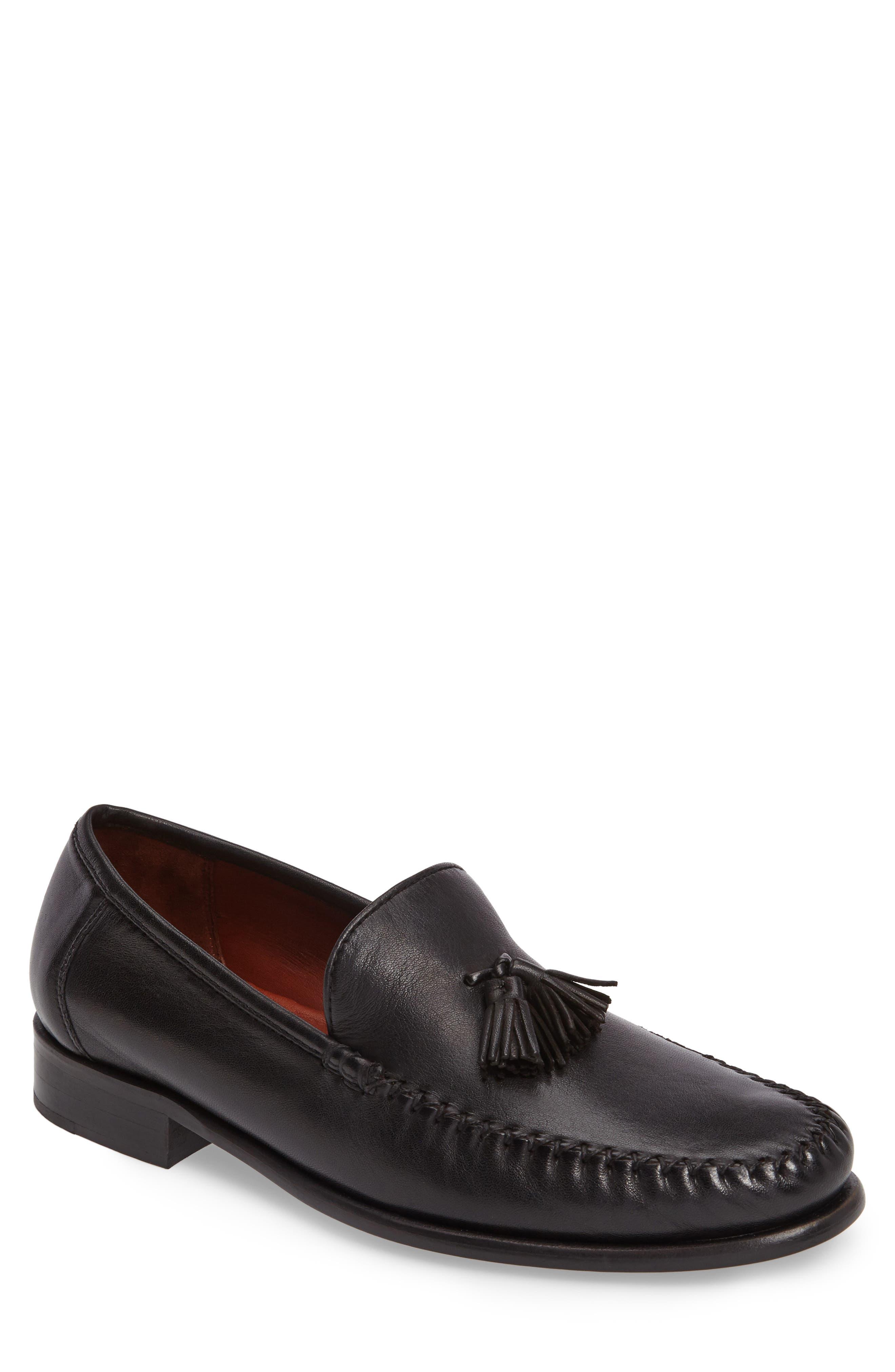 Buy Brand Shoes Robert Zur Men s Elon Tassel Loafers Men Black