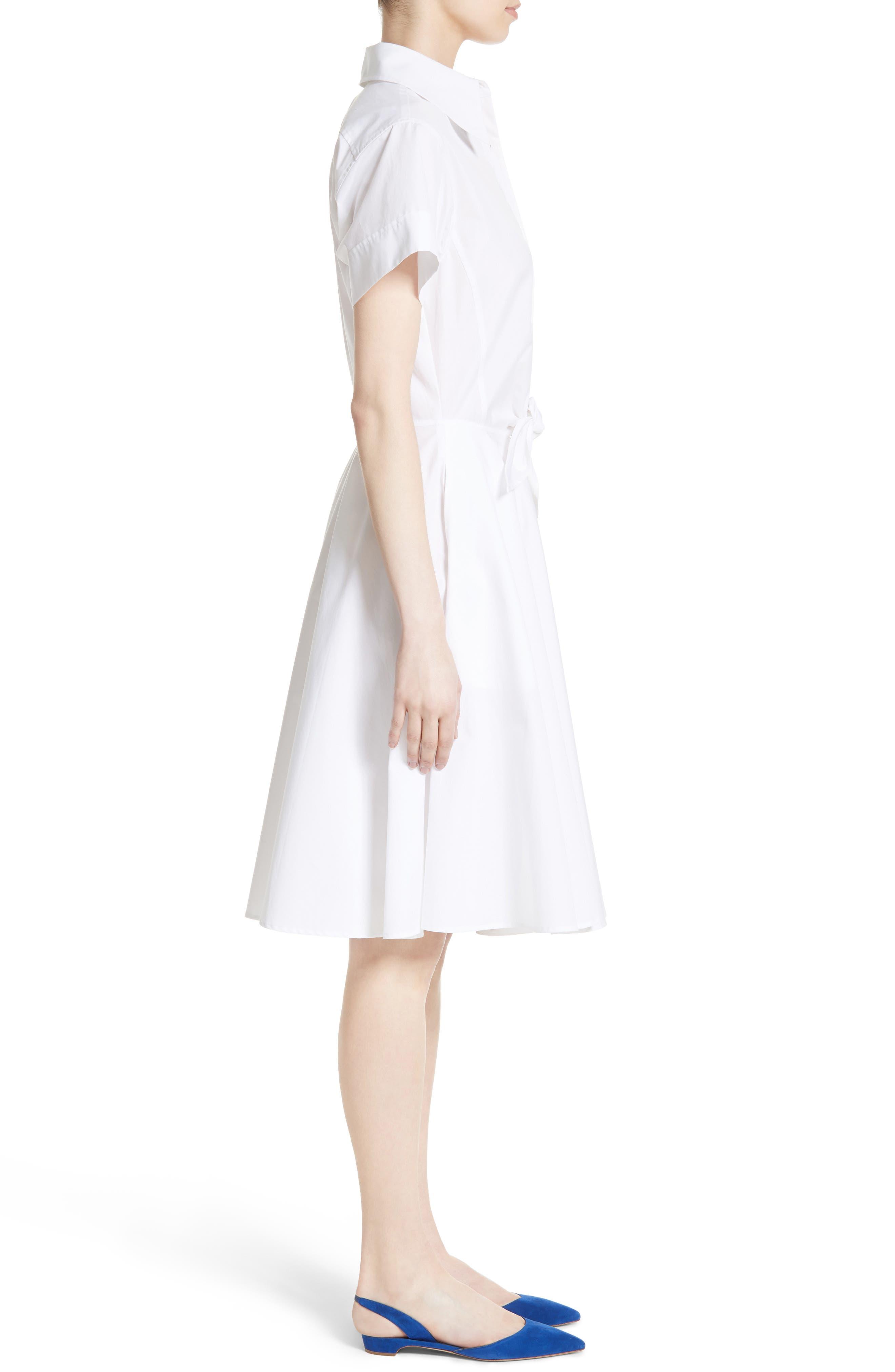 Alternate Image 3  - Diane von Furstenberg Cotton Shirtdress