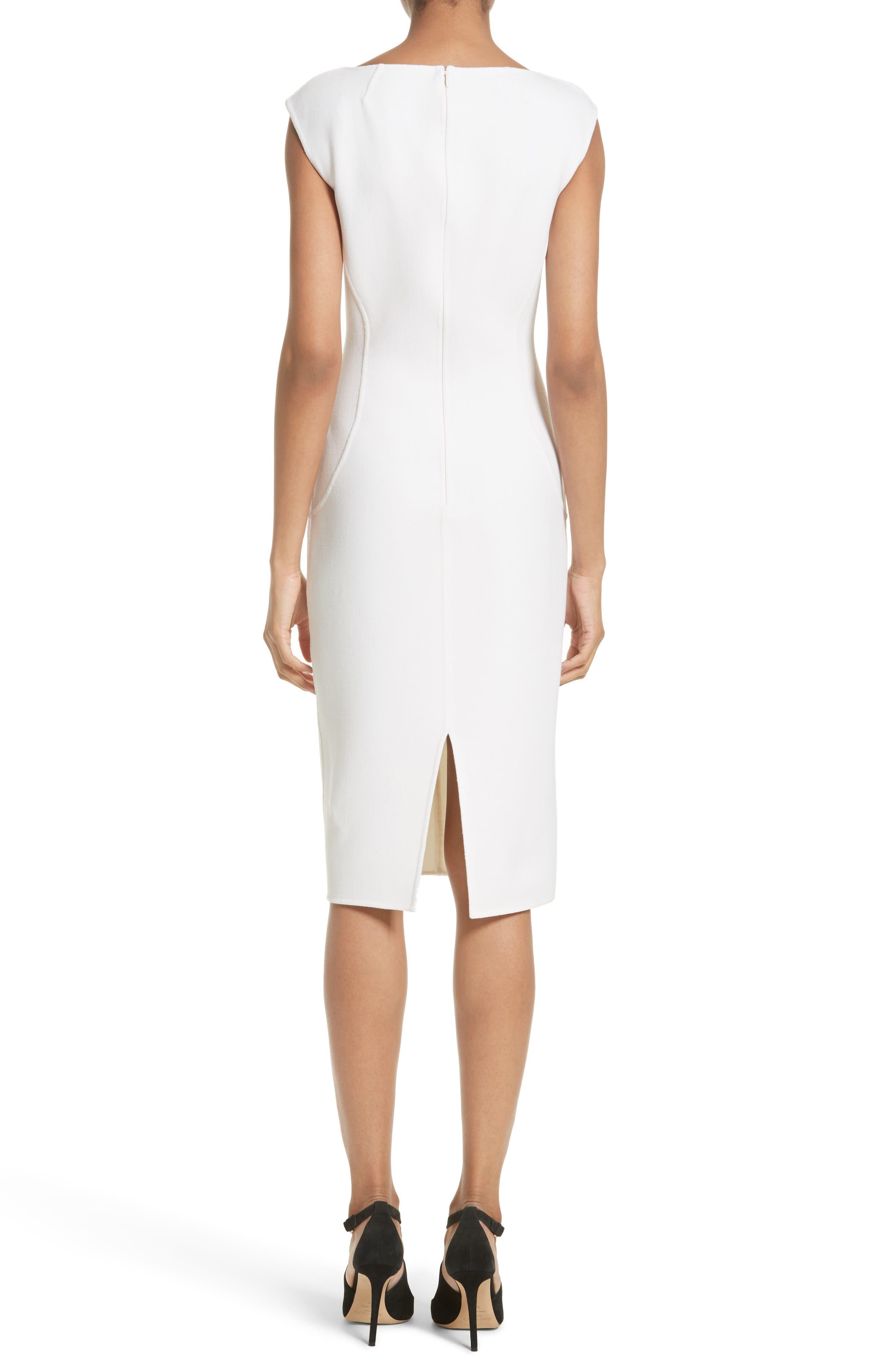 Alternate Image 2  - Michael Kors Stretch Bouclé Sheath Dress