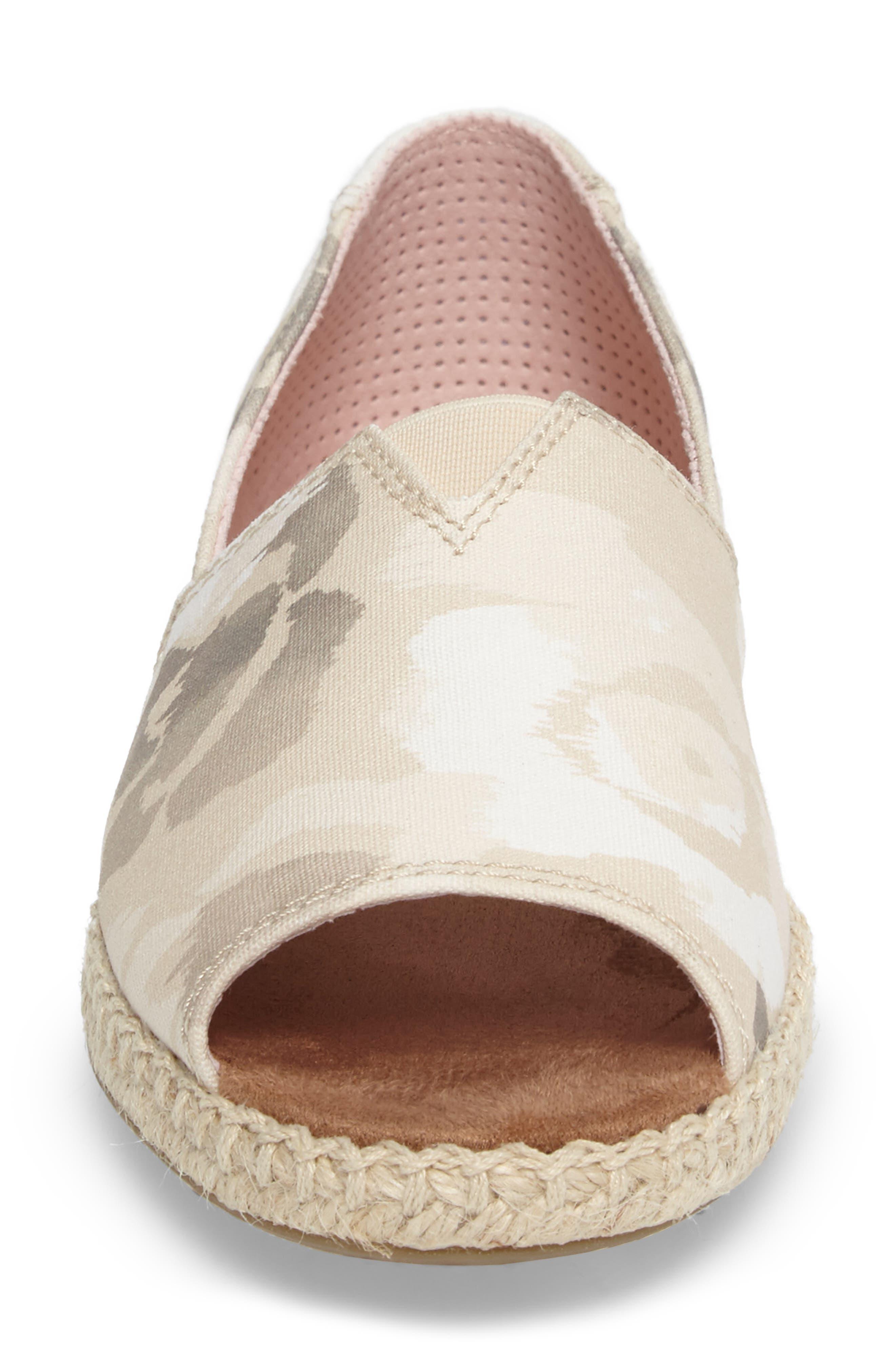 Alternate Image 4  - TOMS Alpargata Open-Toe Slip-On (Women)