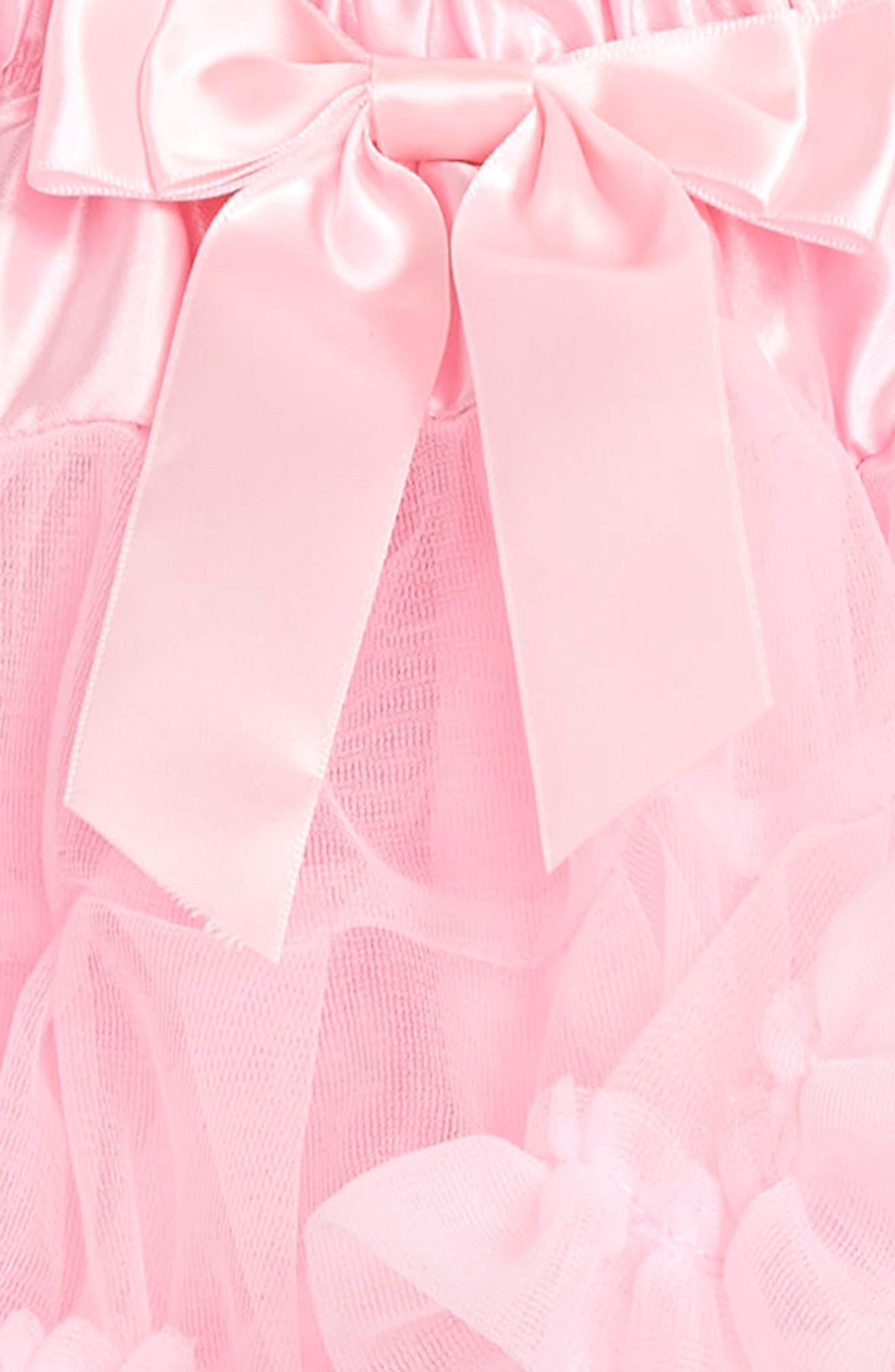 Tutu & Floral Appliqué Head Wrap Set,                             Alternate thumbnail 2, color,                             Pink