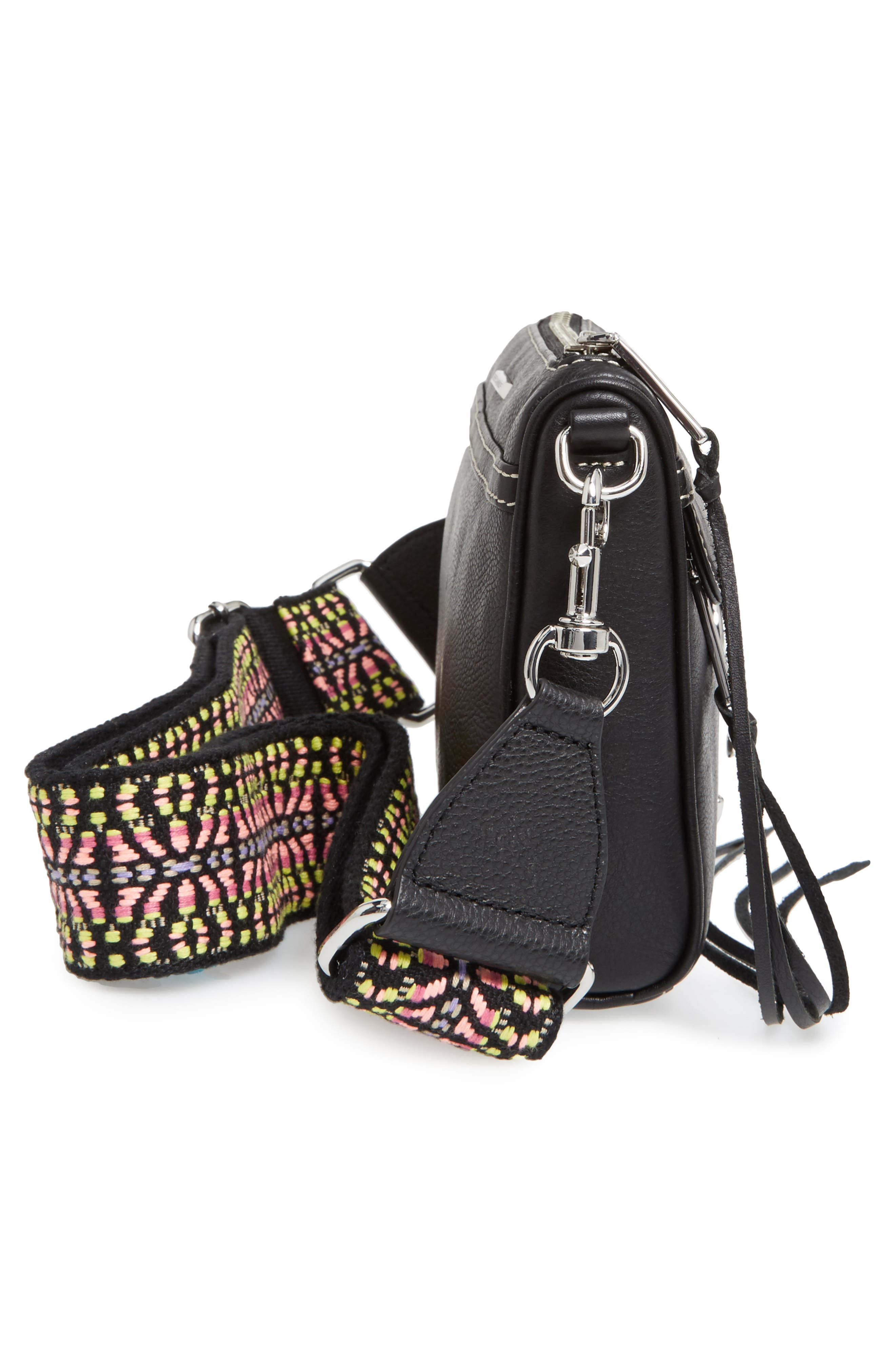 Alternate Image 5  - Rebecca Minkoff Mini MAC Leather Crossbody Bag with Guitar Strap (Nordstrom Exclusive)