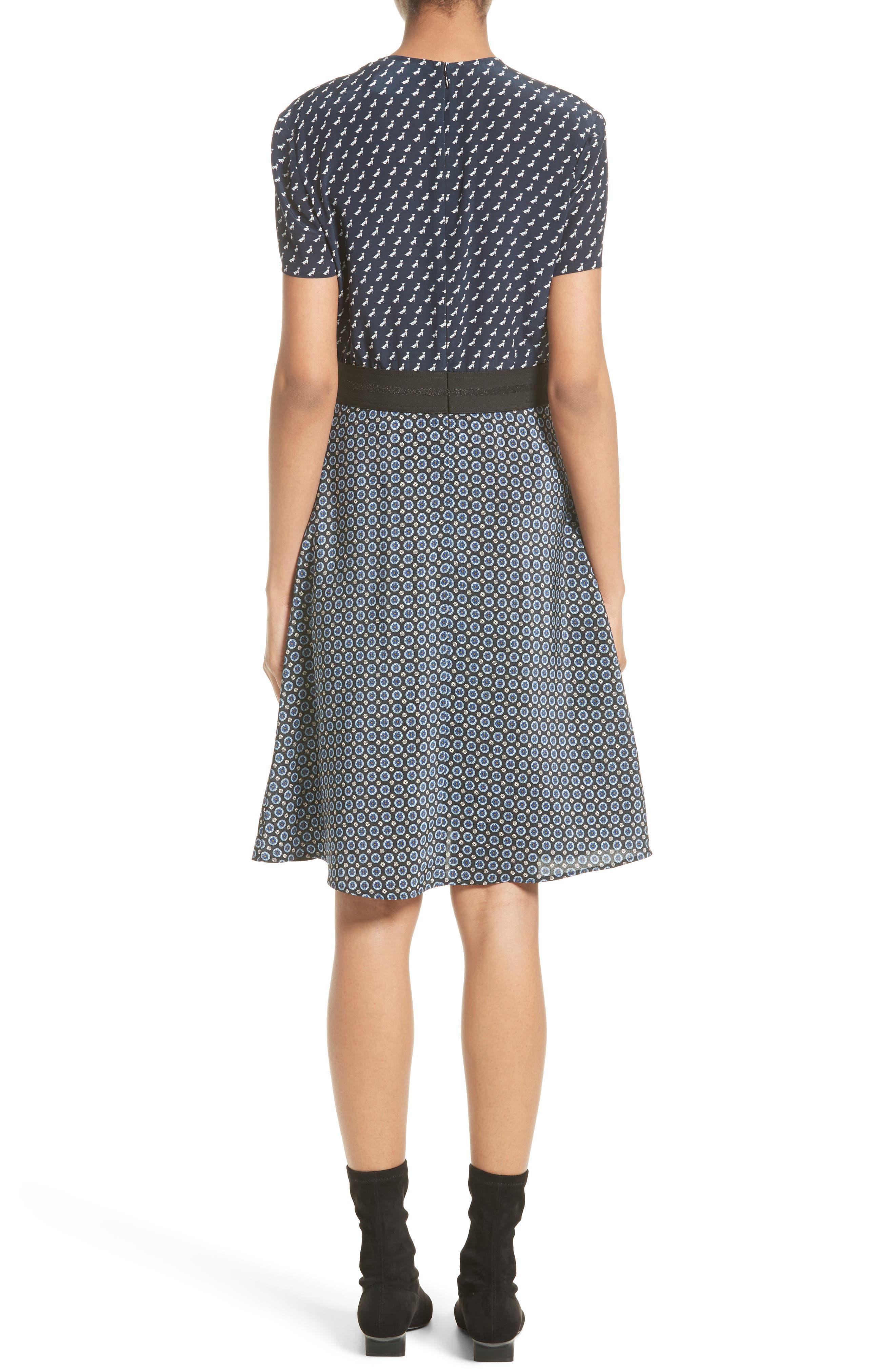 Alternate Image 2  - Stella McCartney Windsor Print Silk Dress