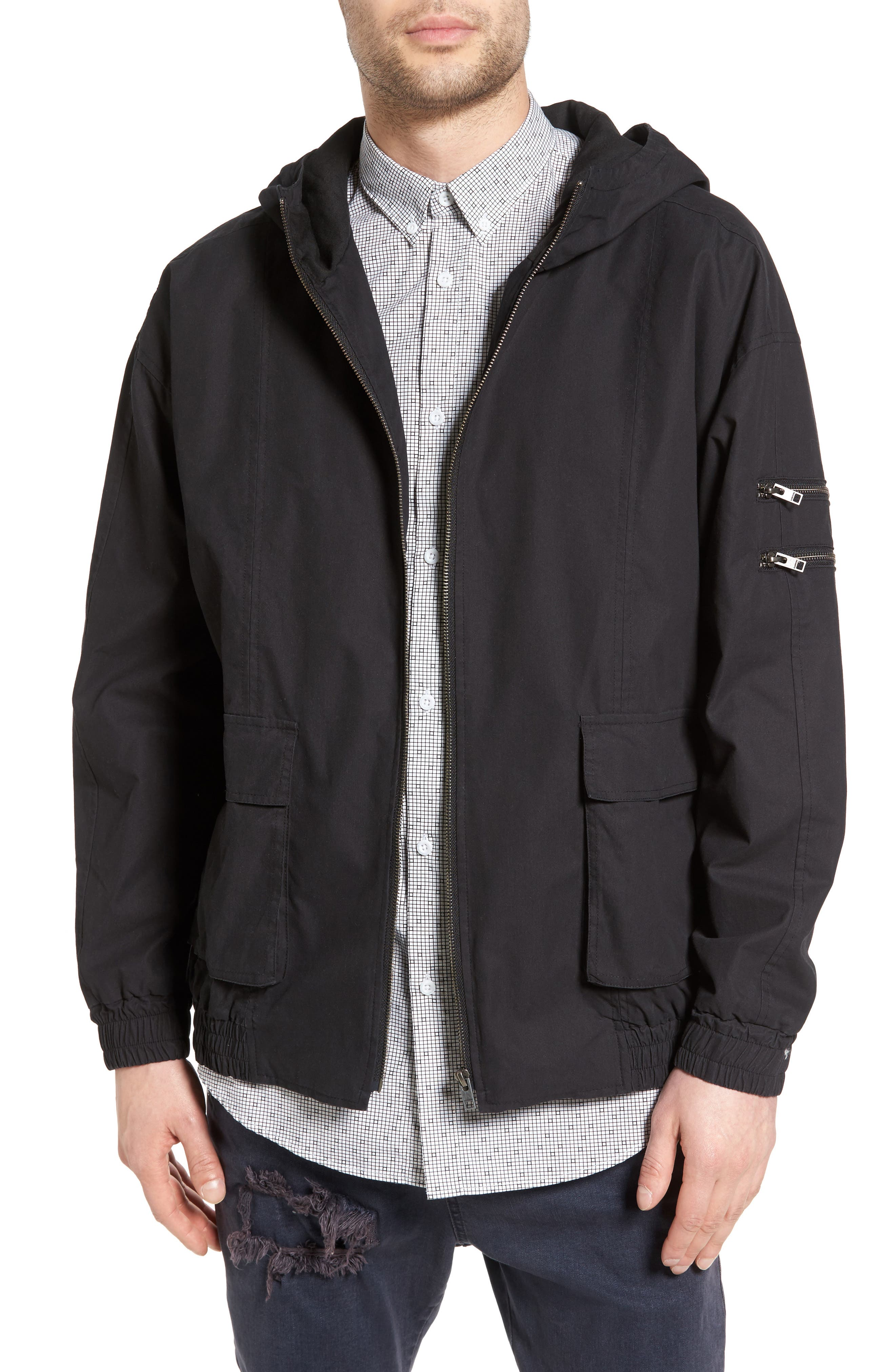 ZANEROBE Boxy Hooded Jacket