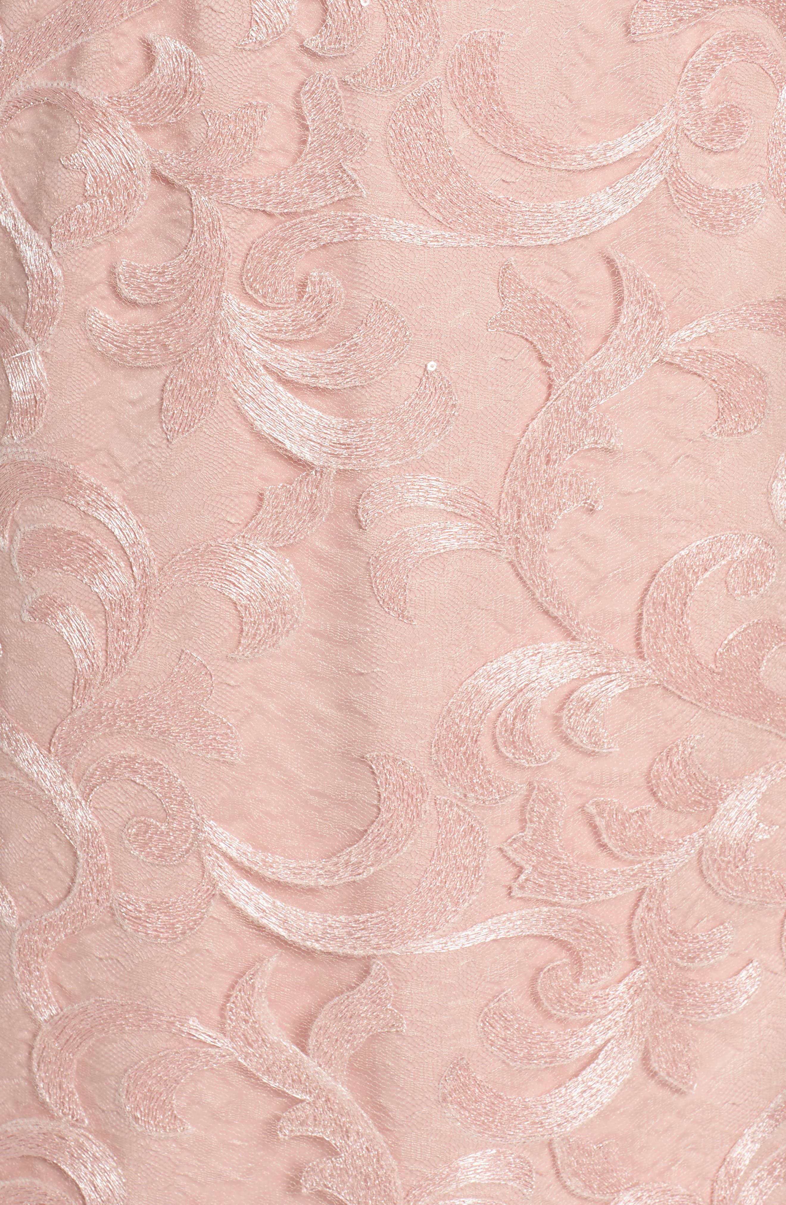 Alternate Image 5  - Vera Wang Asymmetrical Midi Dress
