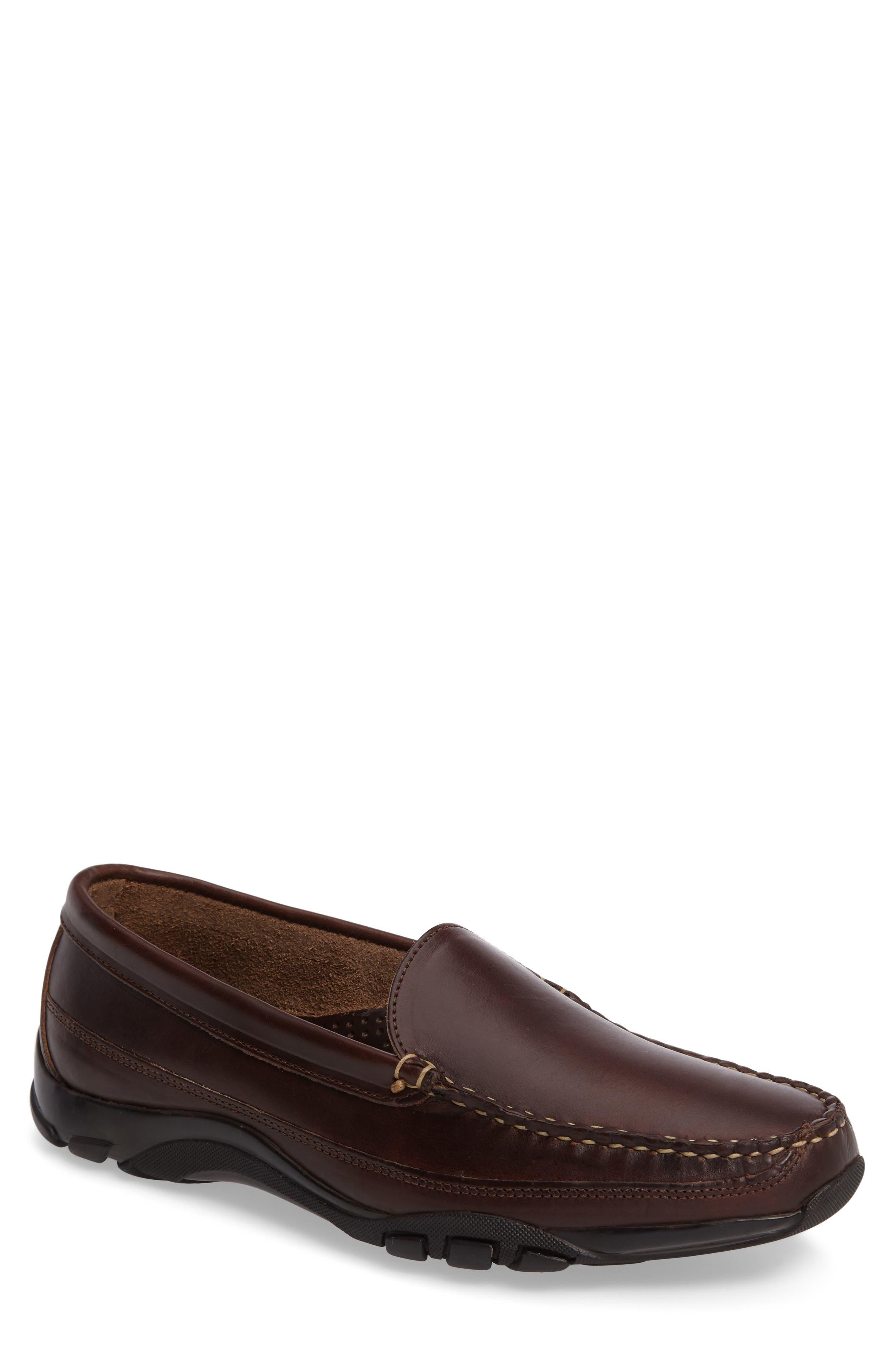 'Boulder' Driving Loafer,                         Main,                         color, Brown