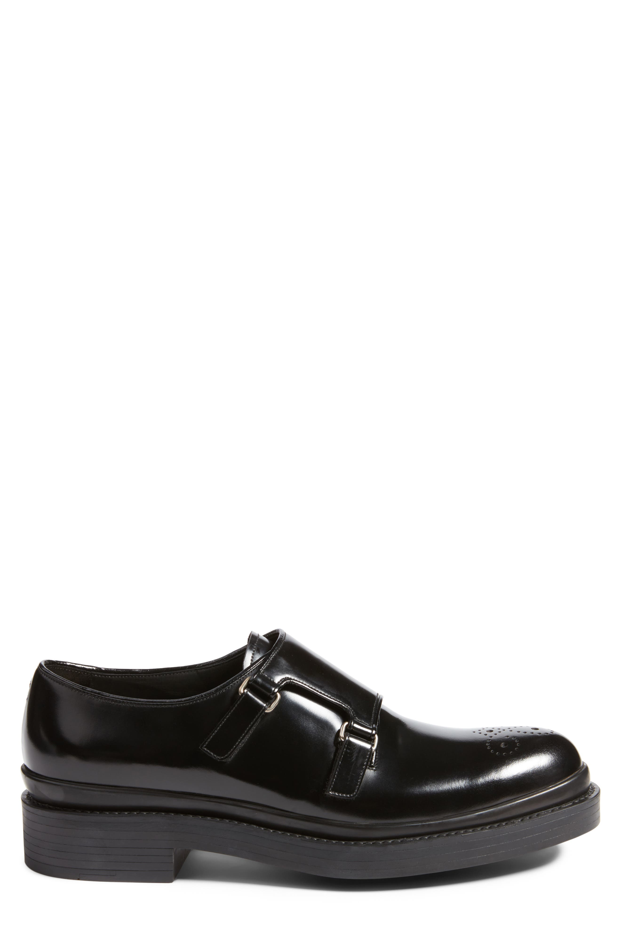 Alternate Image 3  - Prada Double Monk Strap Shoe (Men)