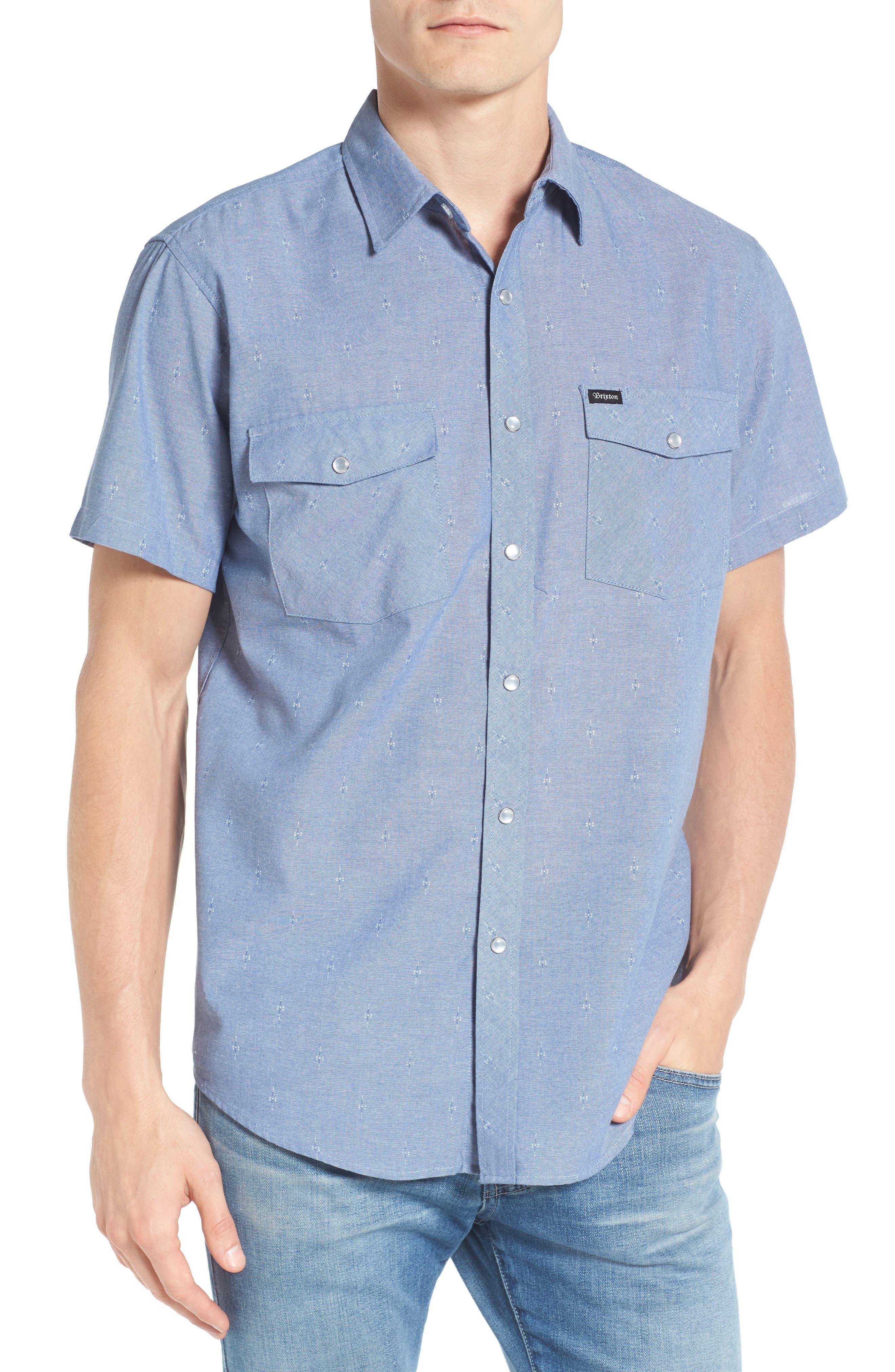 BRIXTON Wayne Print Woven Shirt