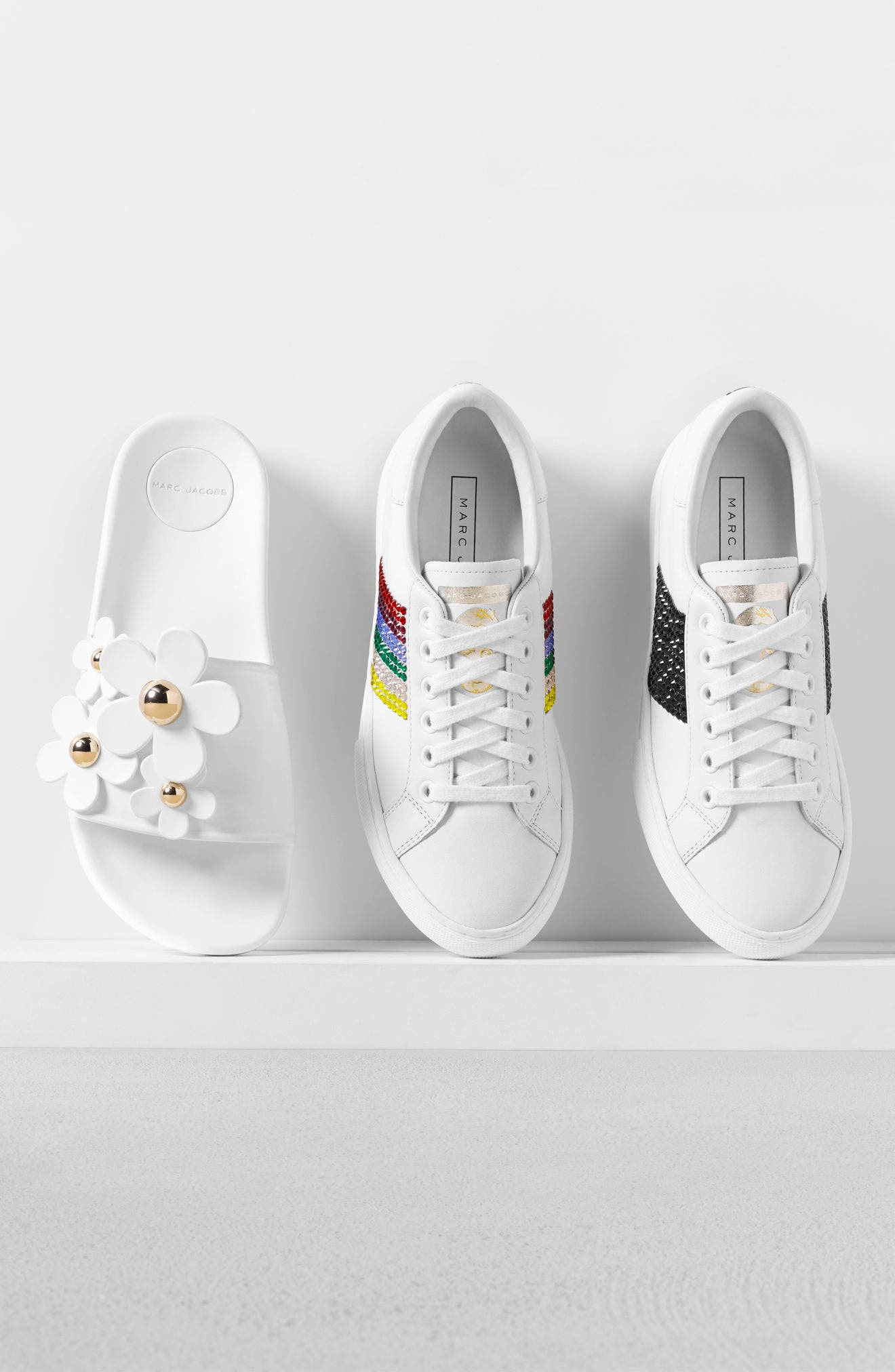 Alternate Image 7  - MARC JACOBS Empire Embellished Sneaker (Women)