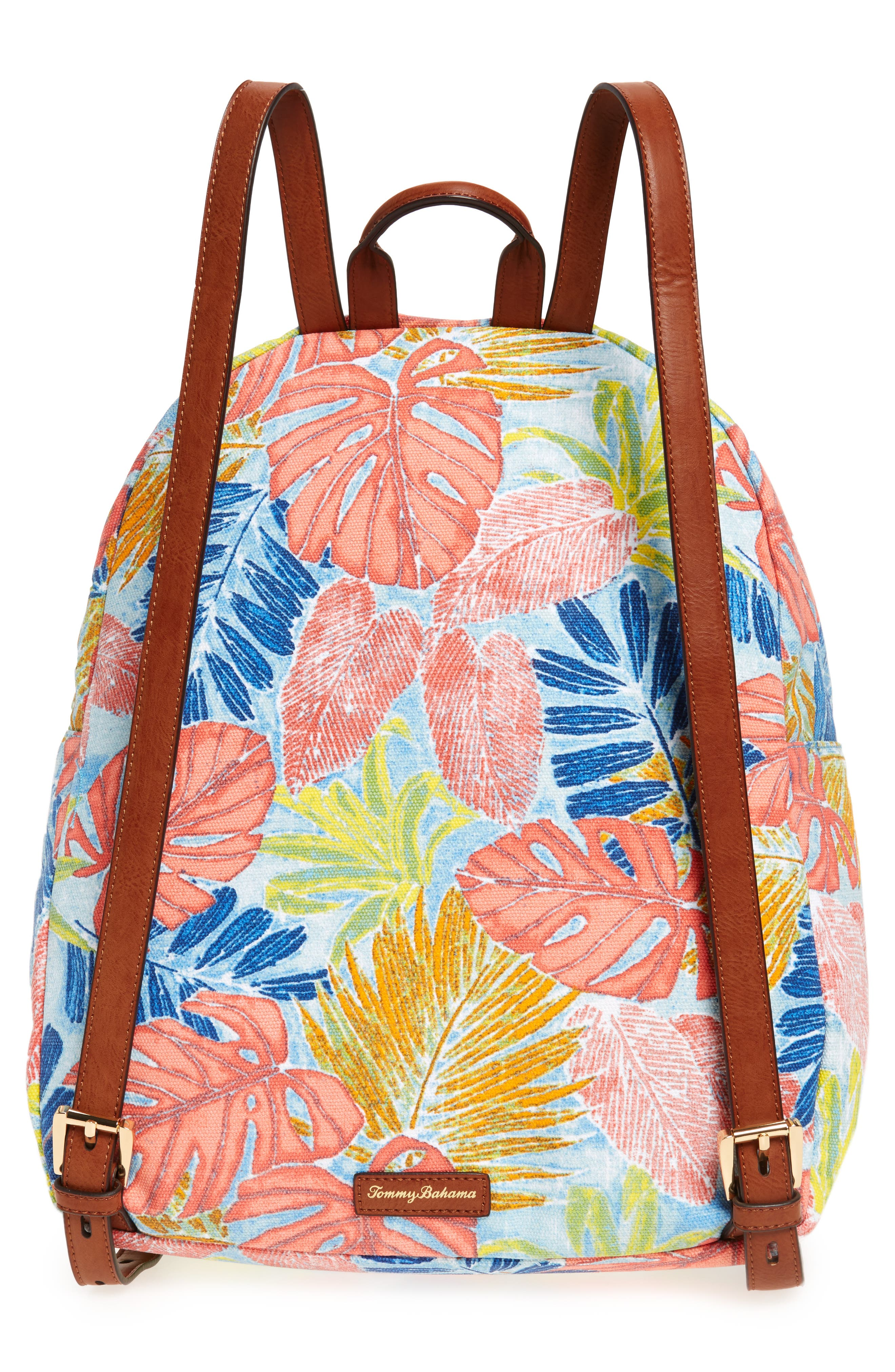 Maui Backpack,                             Alternate thumbnail 3, color,                             Artsy Leaf