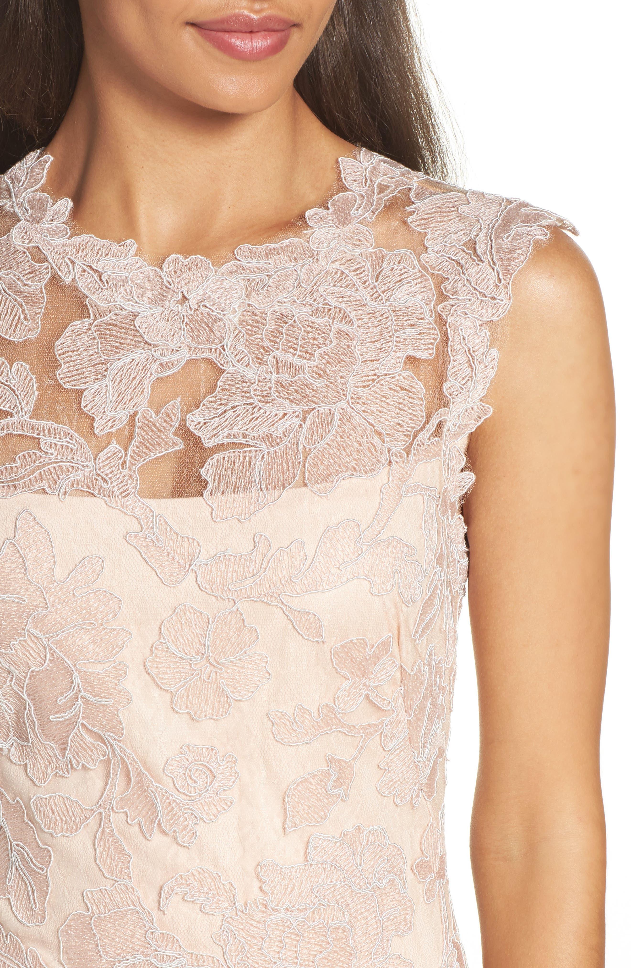 Alternate Image 4  - Tadashi Shoji Fit & Flare Dress