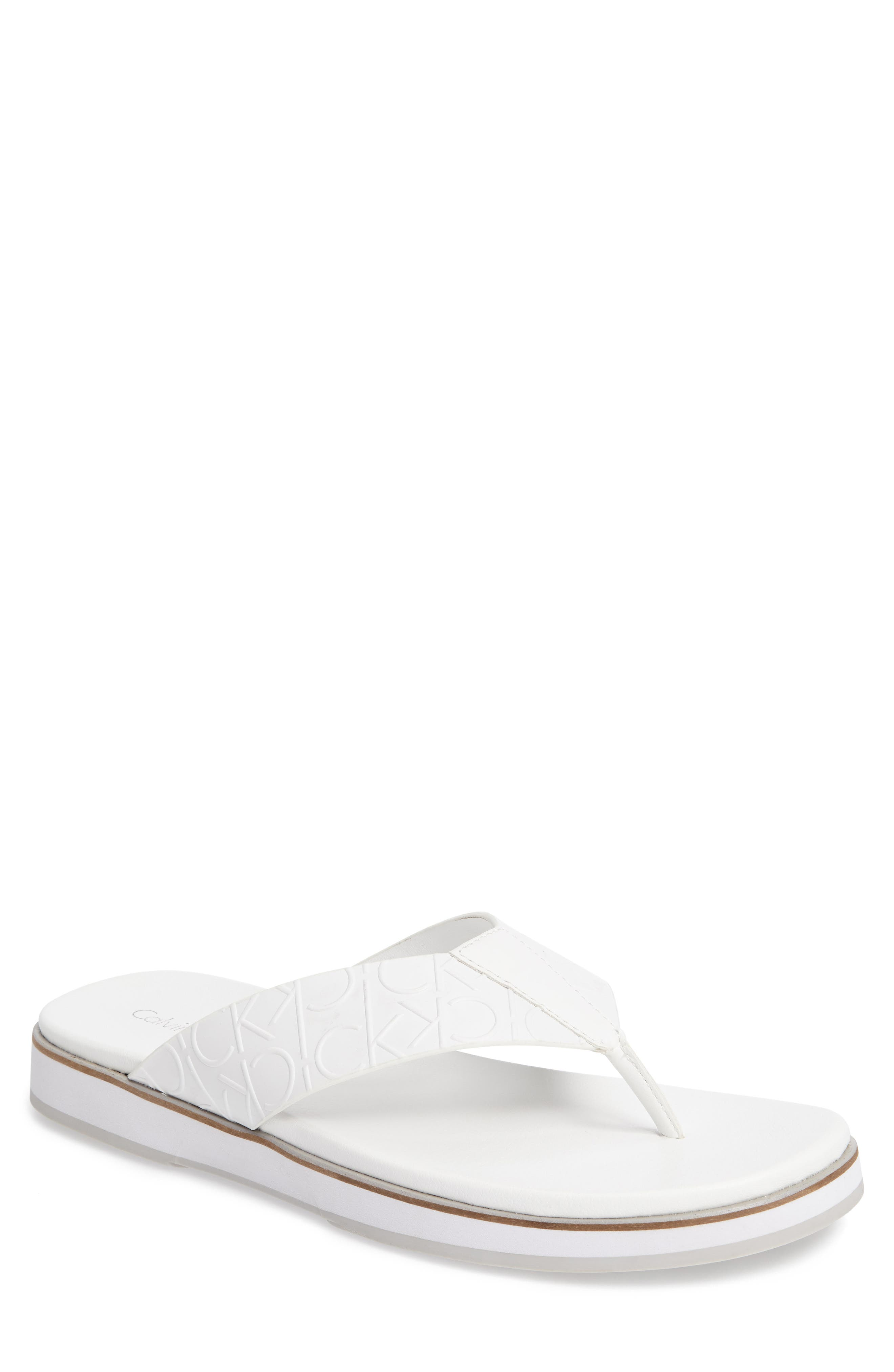 Alternate Image 1 Selected - Calvin Klein Deano Flip Flop (Men)
