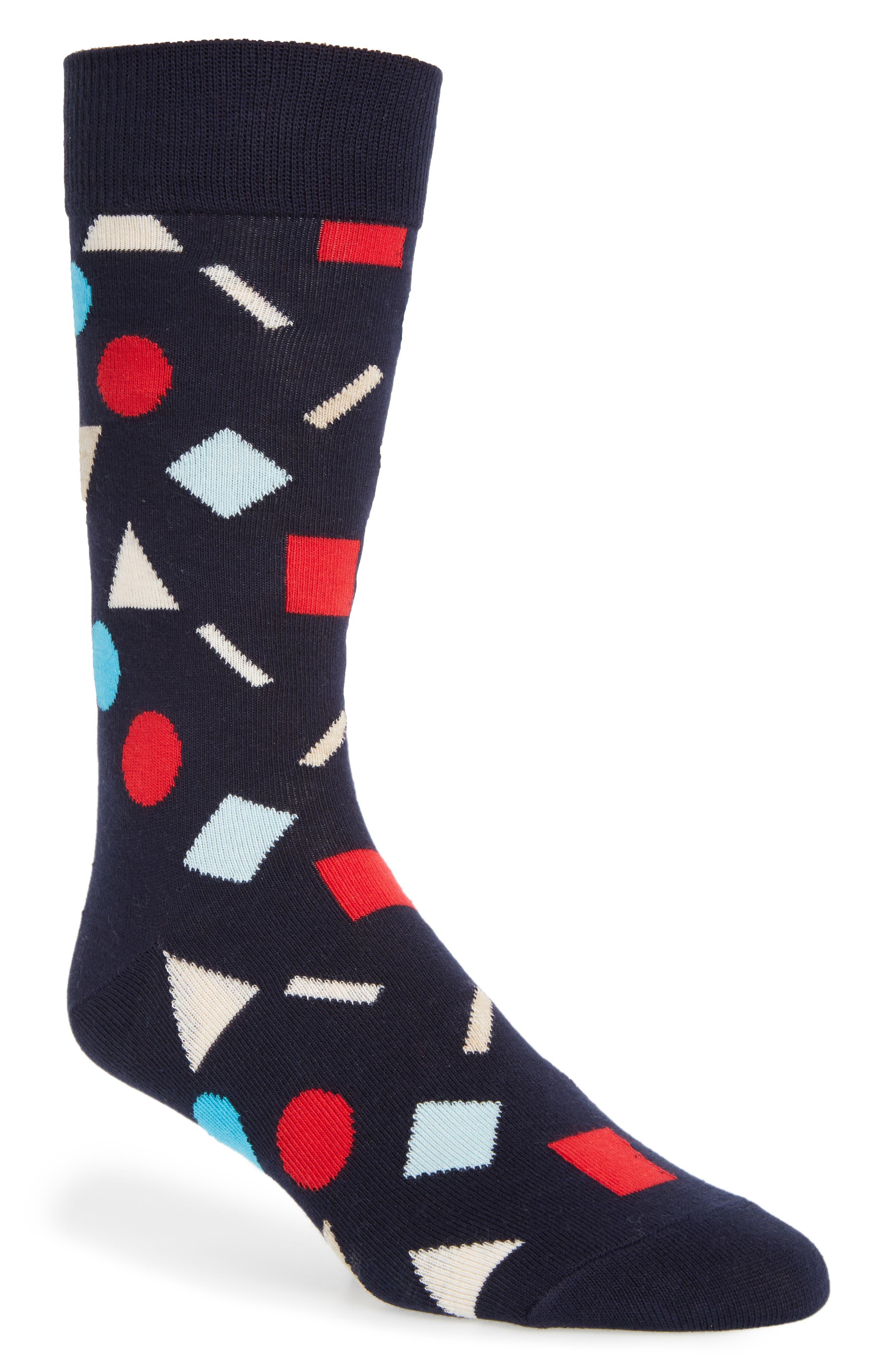 Happy Socks Play Cotton Blend Socks (3 for $30)
