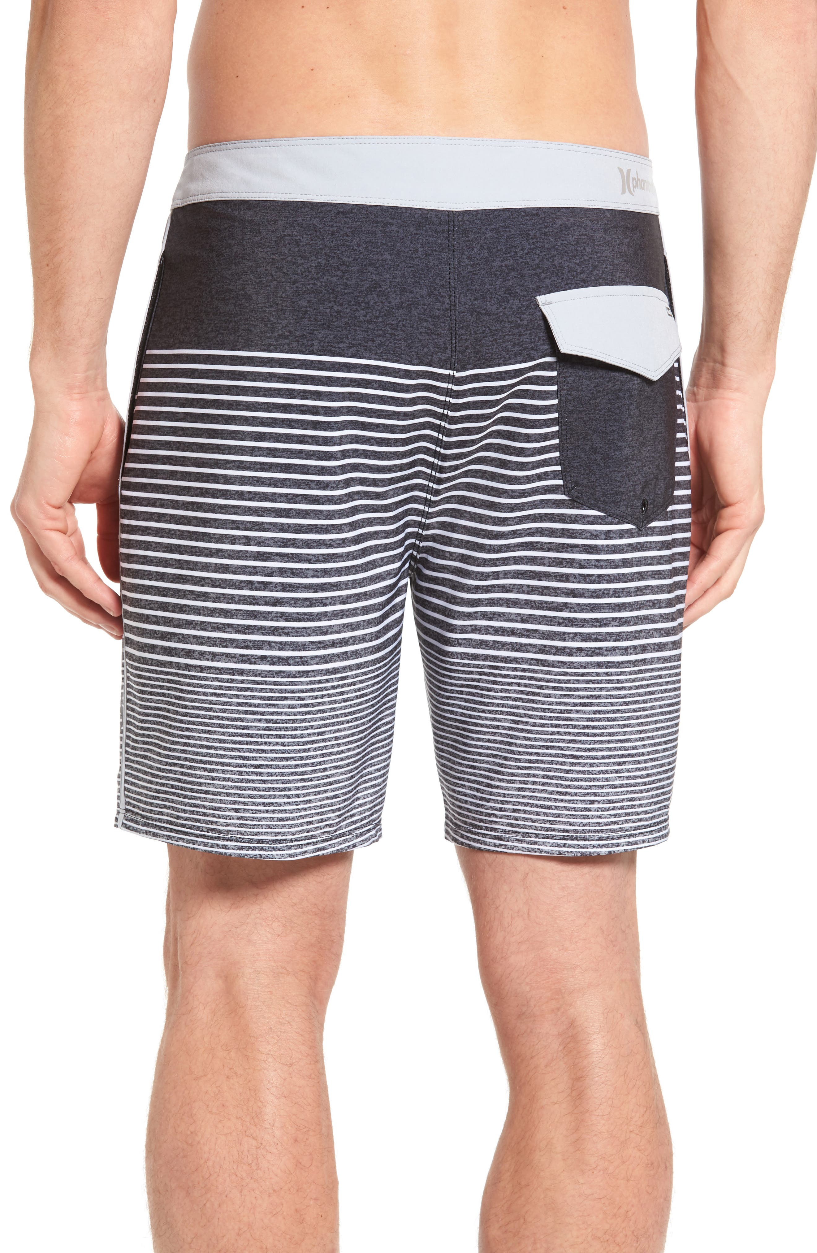 Alternate Image 2  - Hurley Phantom Recycled Swim Trunks