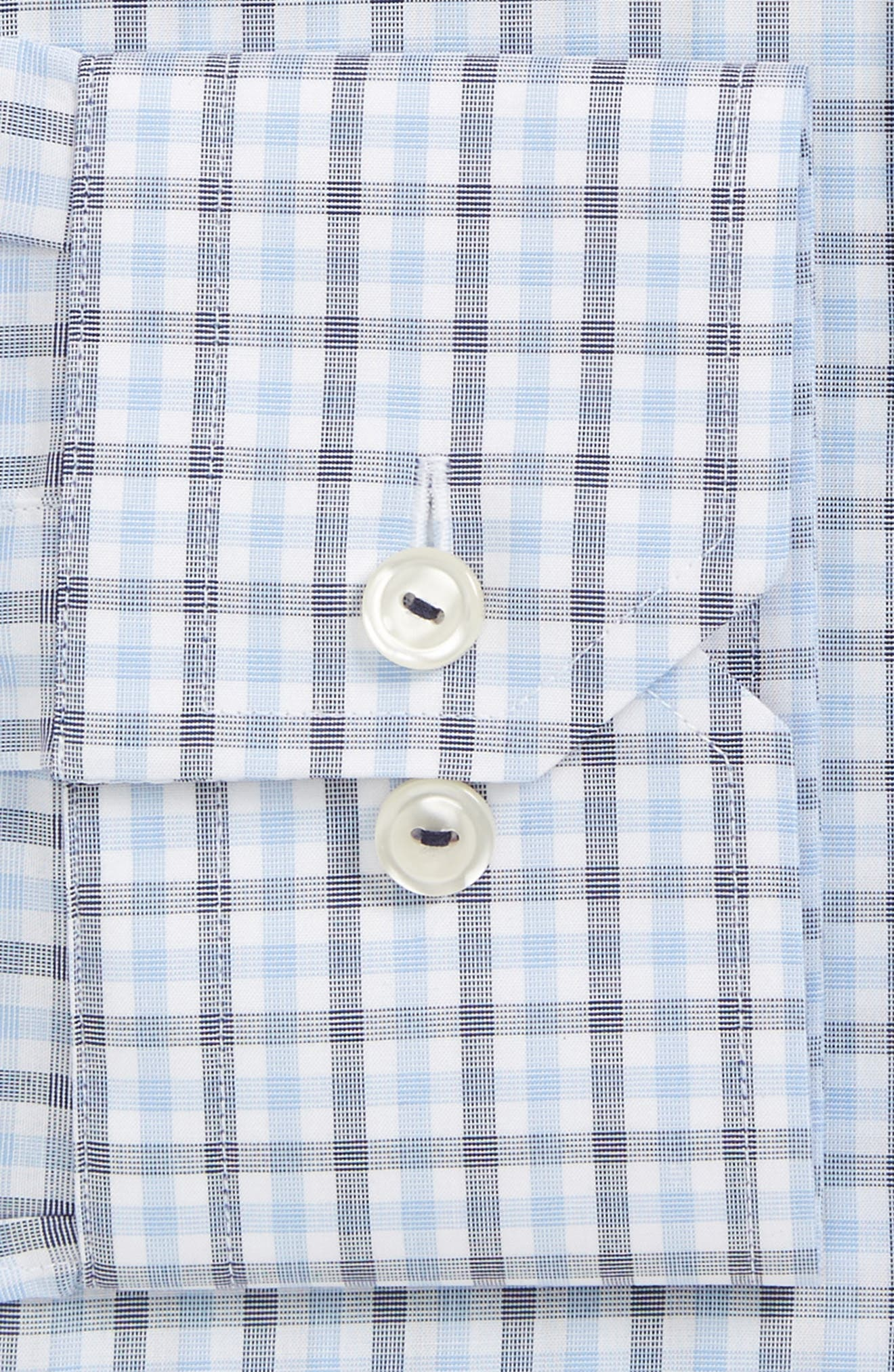 Alternate Image 2  - Eton Slim Fit Check Dress Shirt