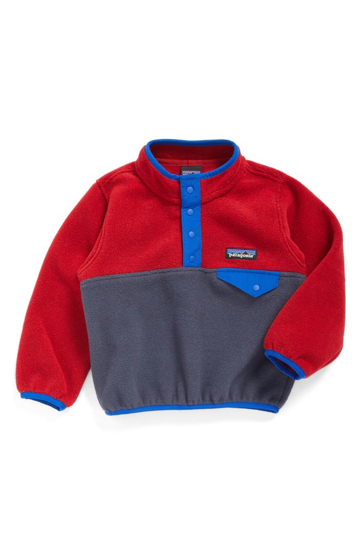 patagonia synchilla snap t fleece pullover baby boys. Black Bedroom Furniture Sets. Home Design Ideas