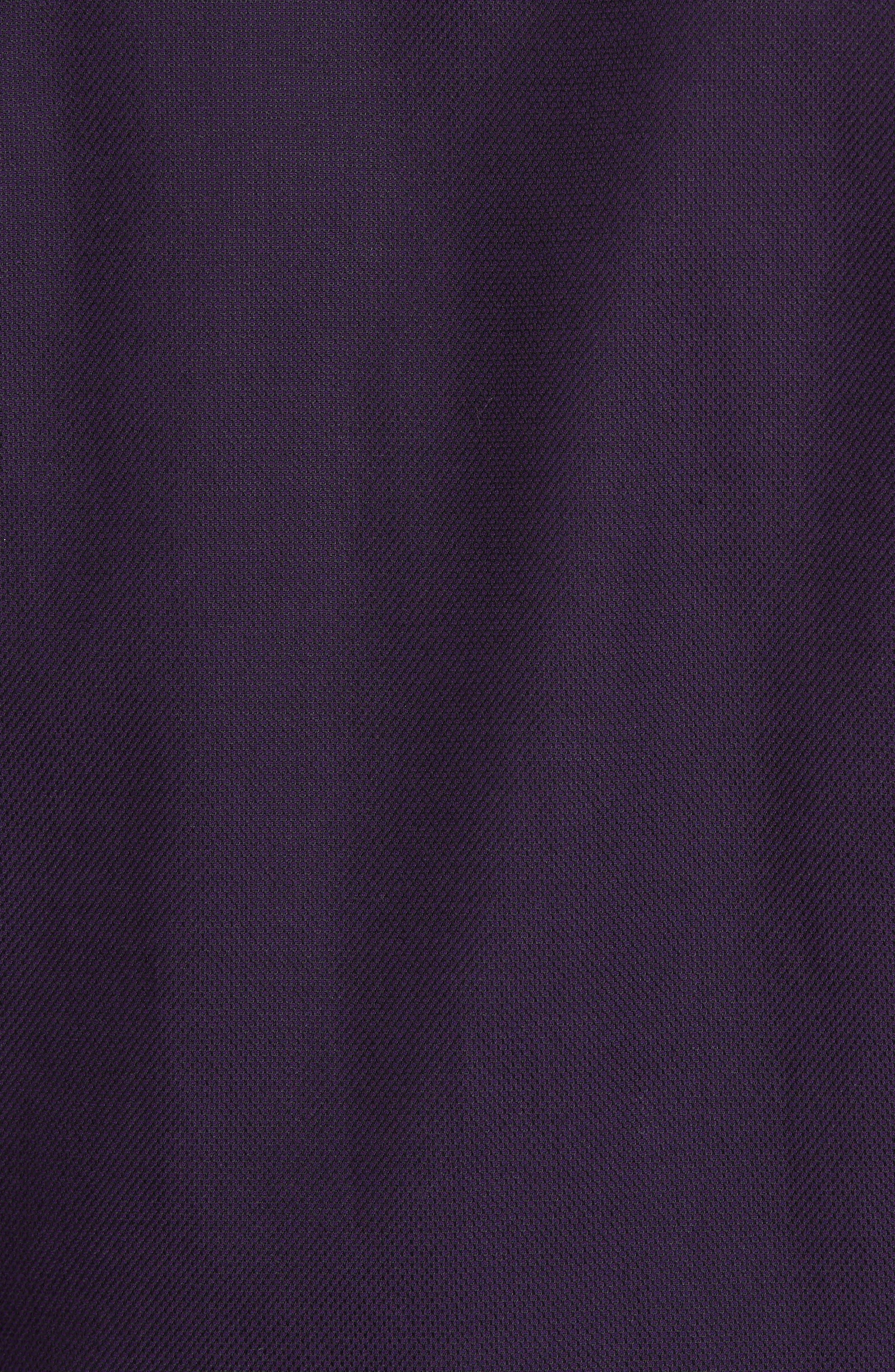 Nordlux Modern Slim Fit Stretch Cotton Sport Shirt,                             Alternate thumbnail 5, color,                             Deep Purple