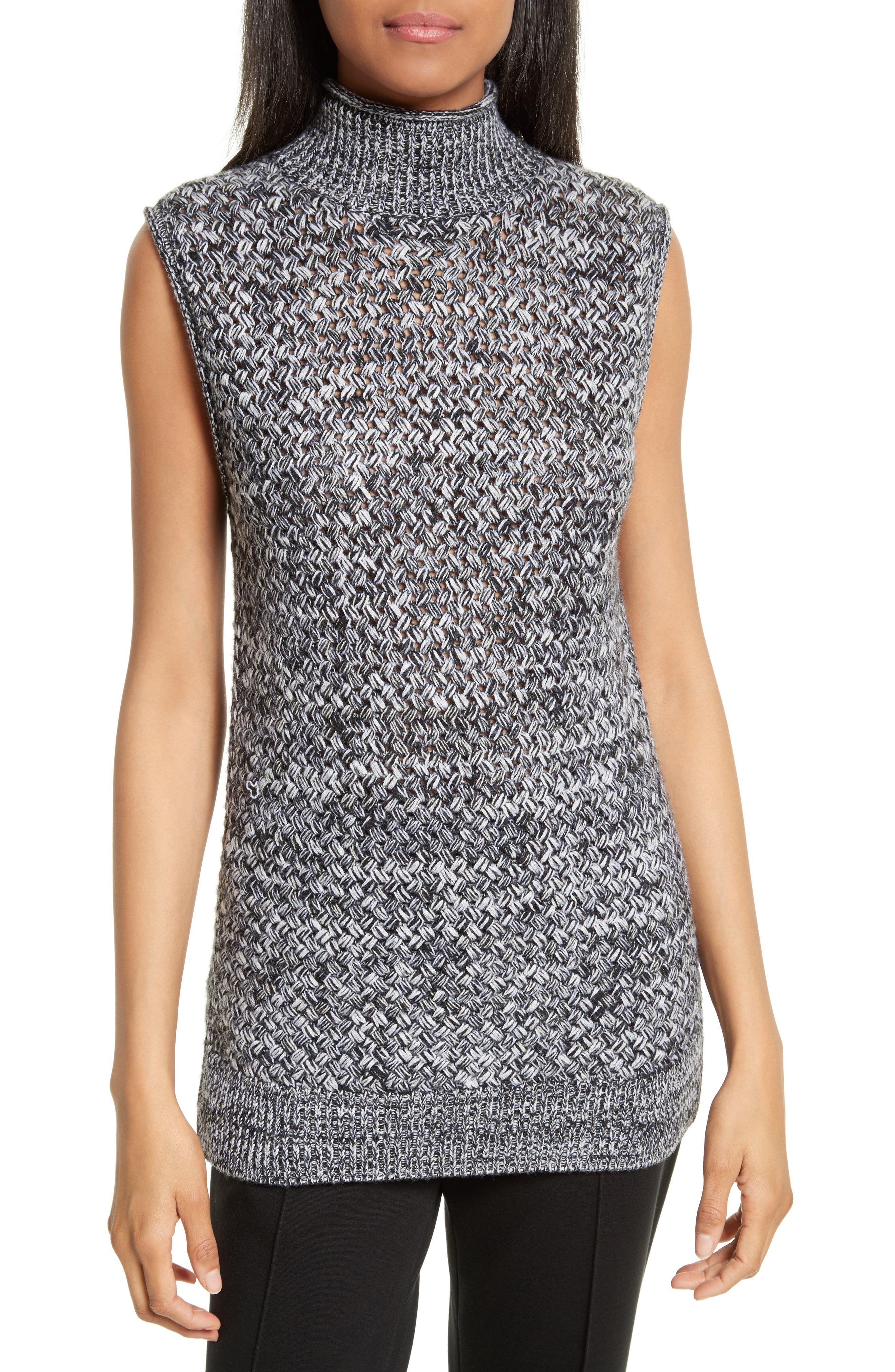 Alice + Olivia Abbot Wool & Cashmere Turtleneck Sweater