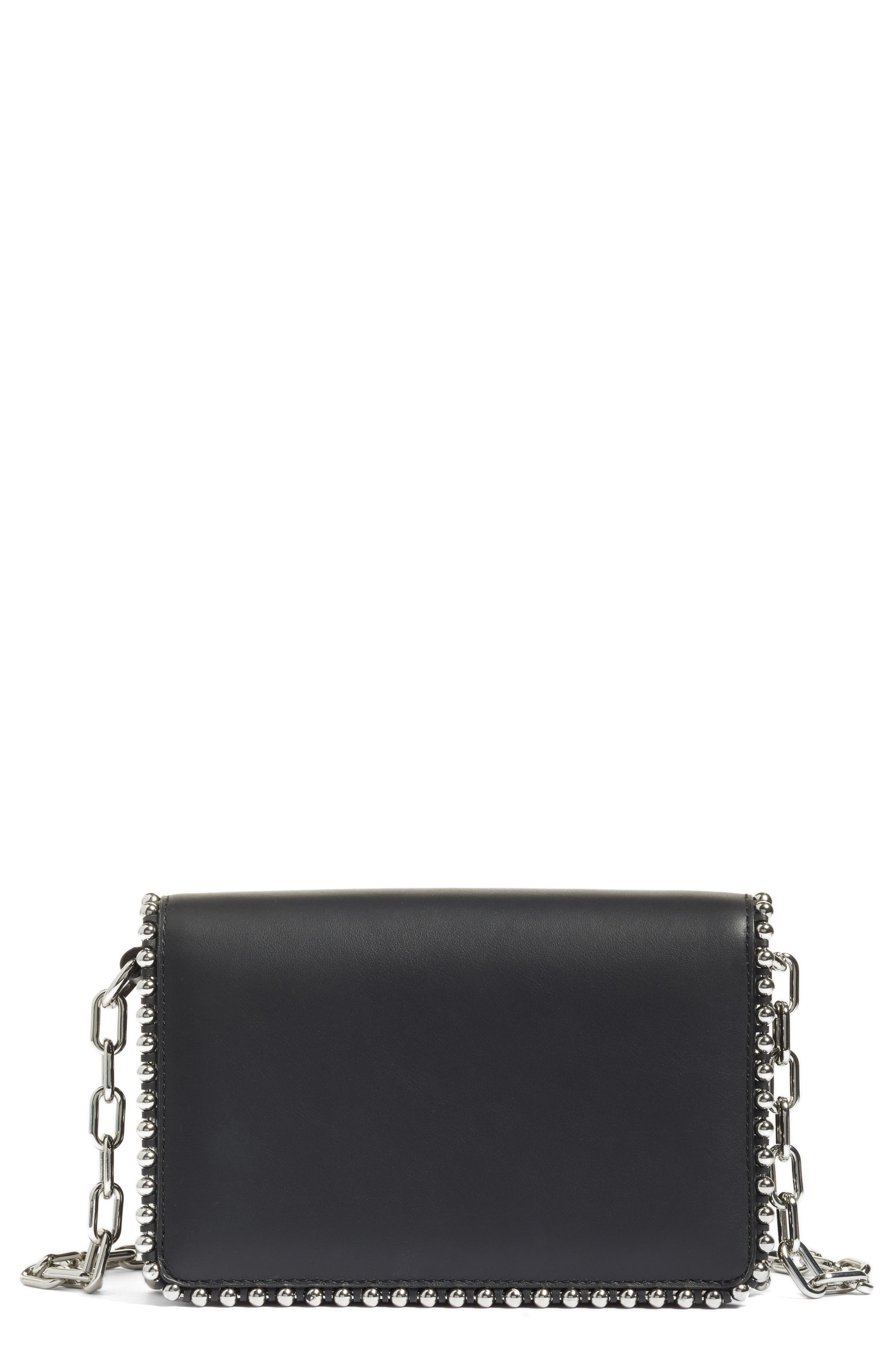 Alexander Wang Biker Studded Leather Crossbody Bag