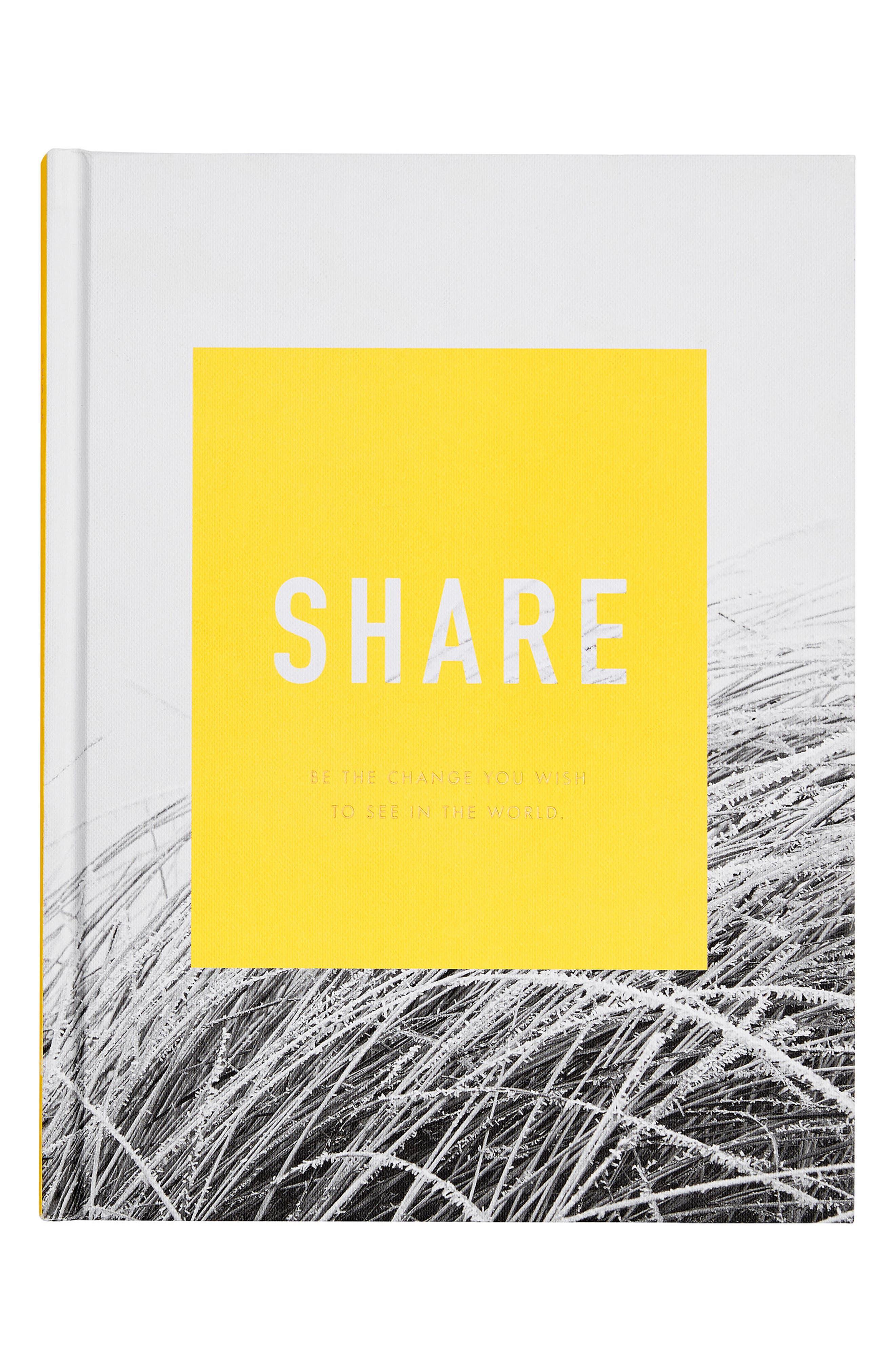 Share: Inspiration Book,                         Main,                         color, Multi