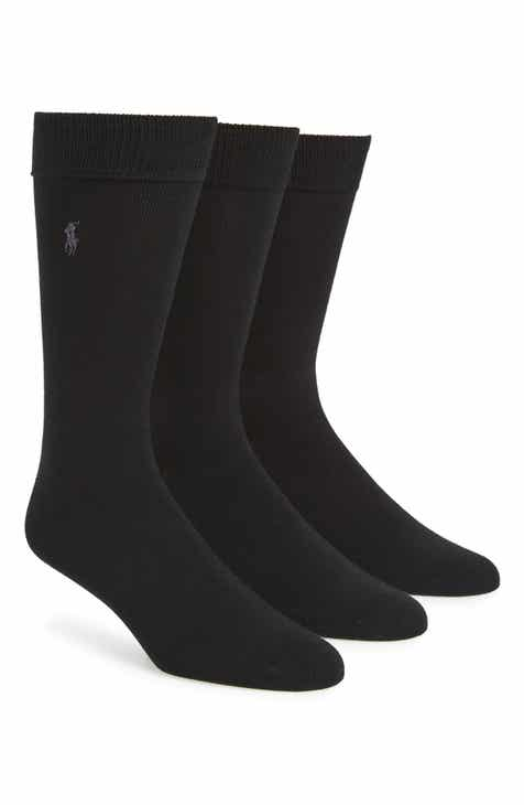 c42f5728eb6 Polo Ralph Lauren Assorted 3-Pack Supersoft Socks