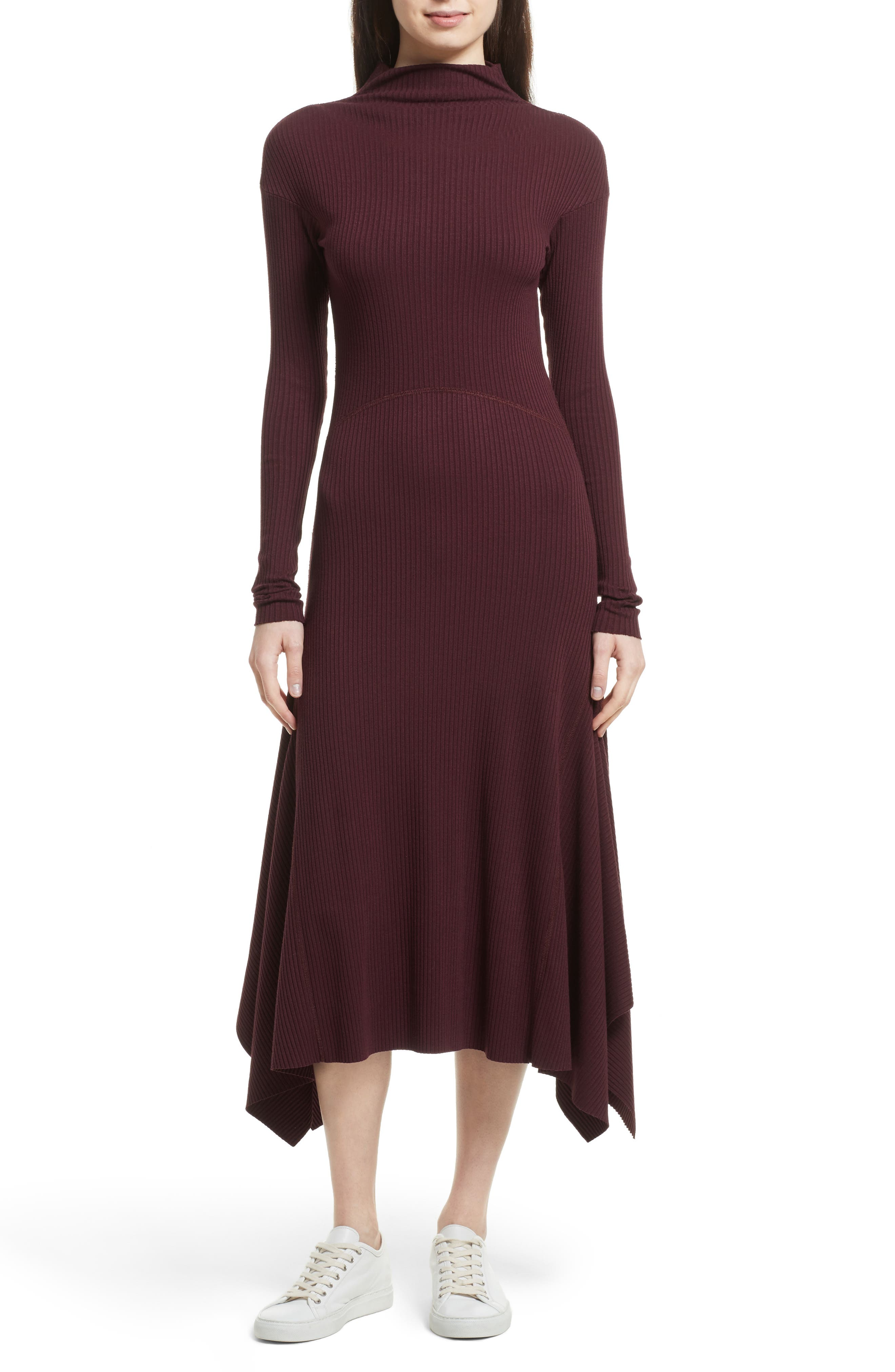 THEORY Ribbed Sweater Dress