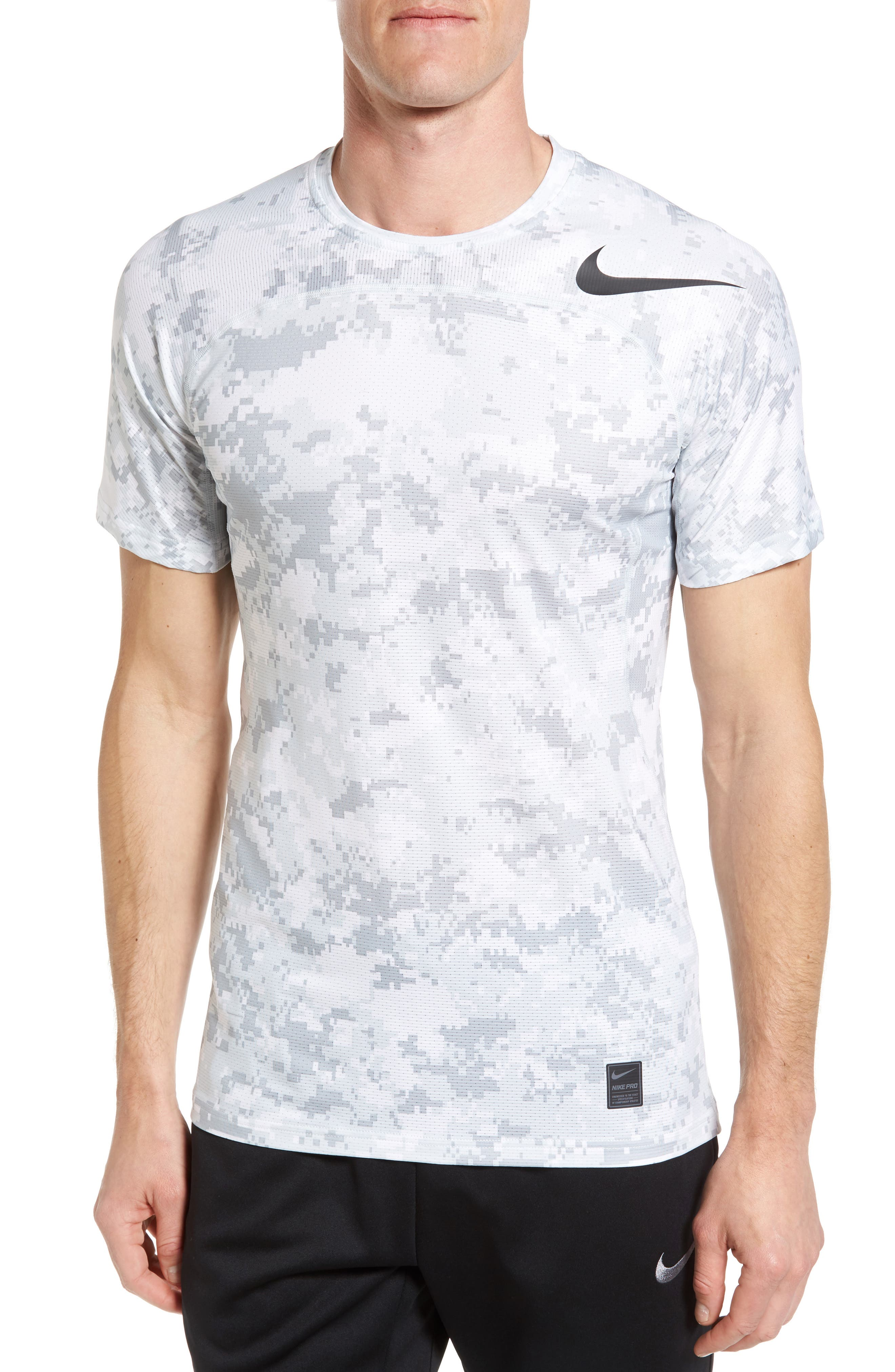 Alternate Image 1 Selected - Nike Pro Hypercool Seamless T-Shirt