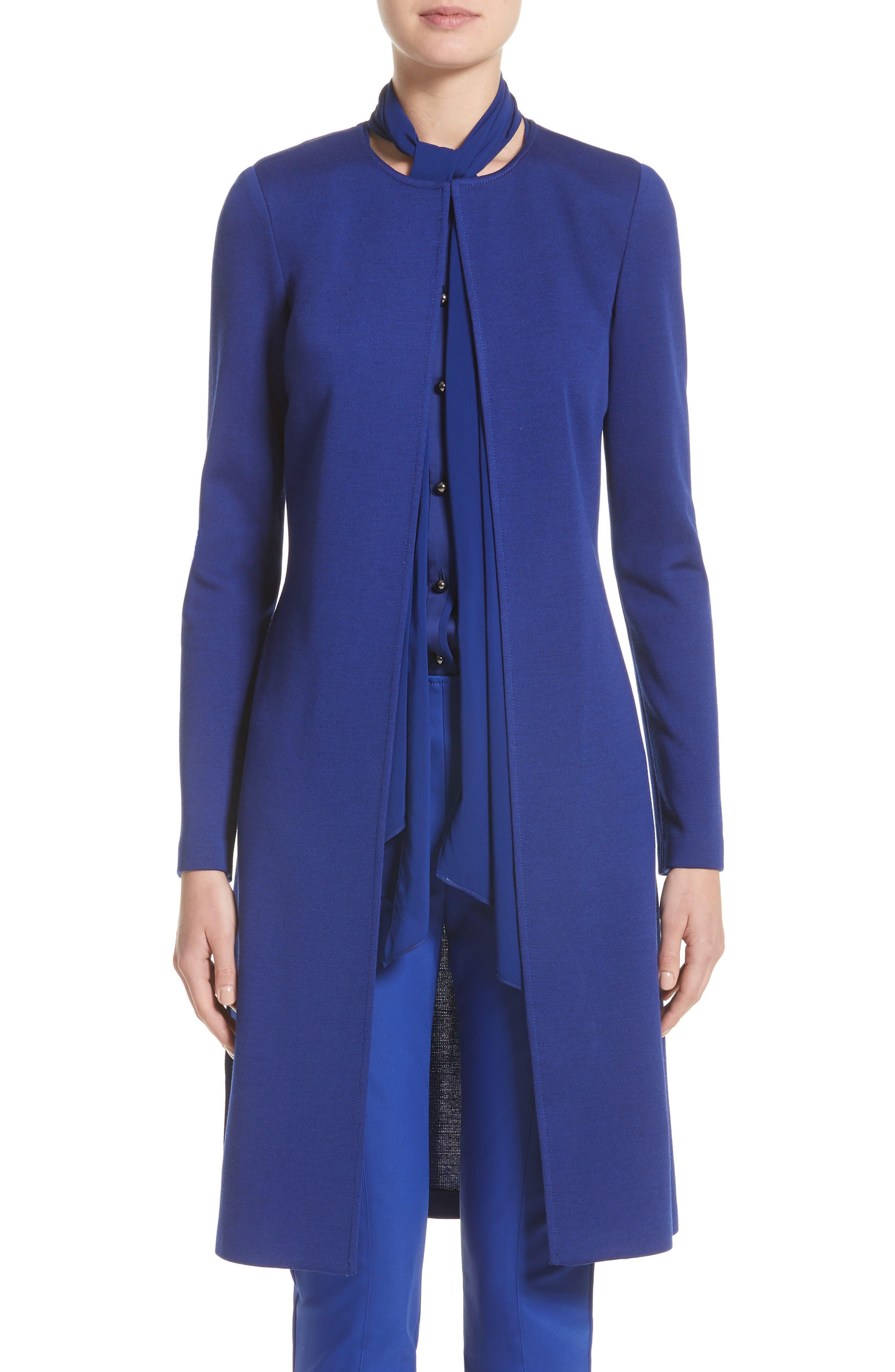 Milano Knit Topper,                         Main,                         color, Lazuli