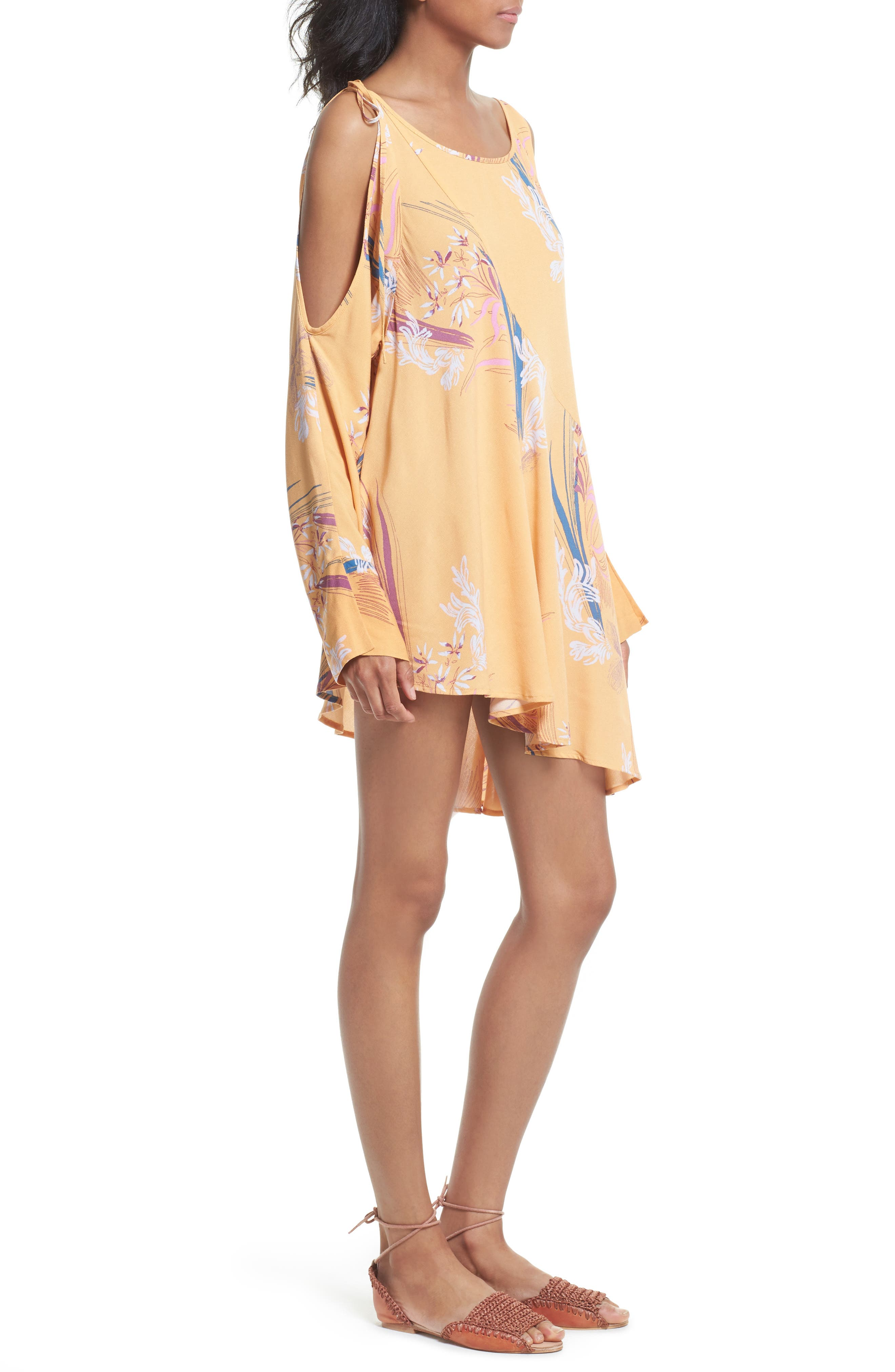 Alternate Image 3  - Free People Clear Skies Cold Shoulder Tunic