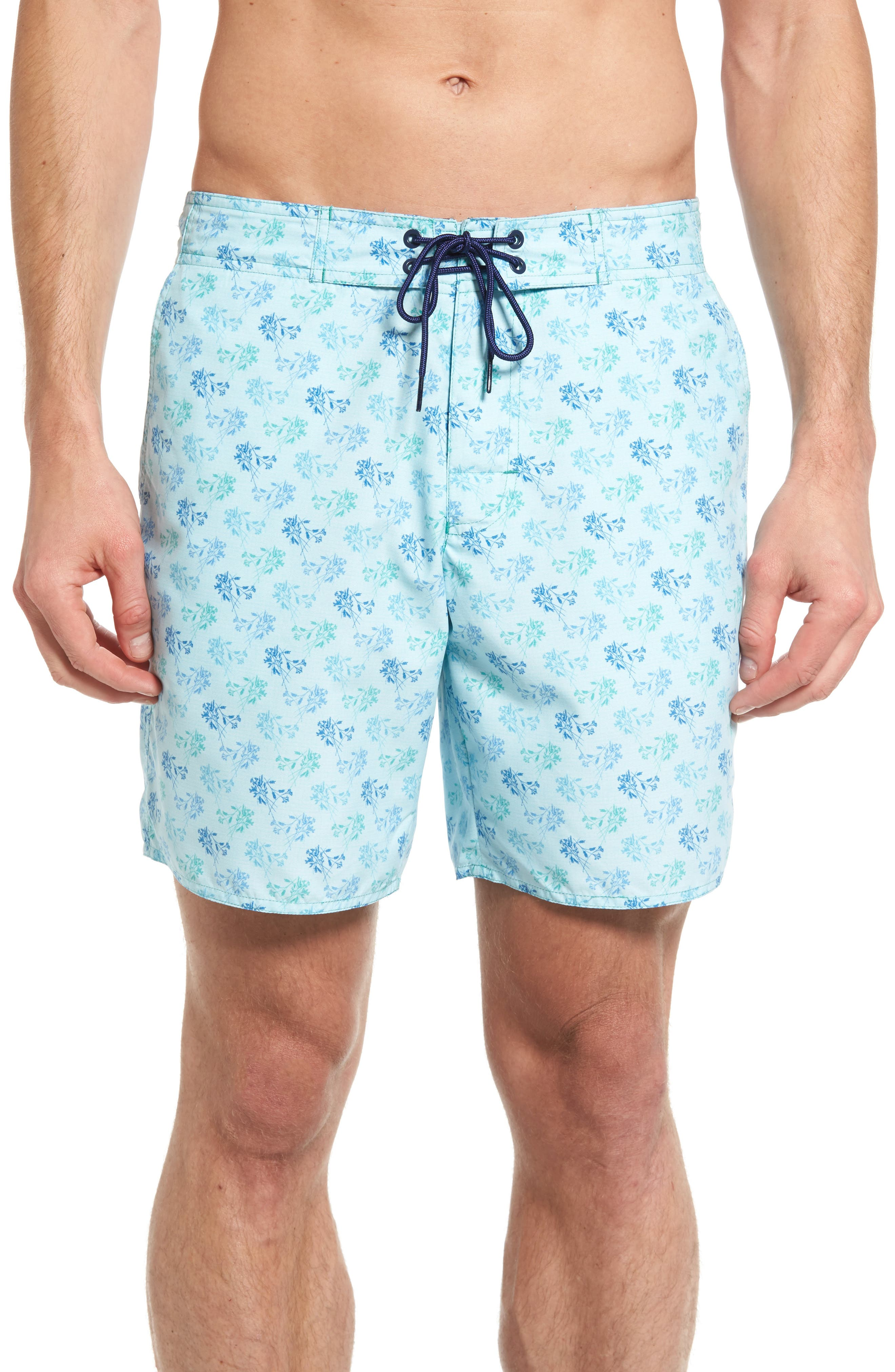 Corkwood Board Shorts,                         Main,                         color, Turquoise