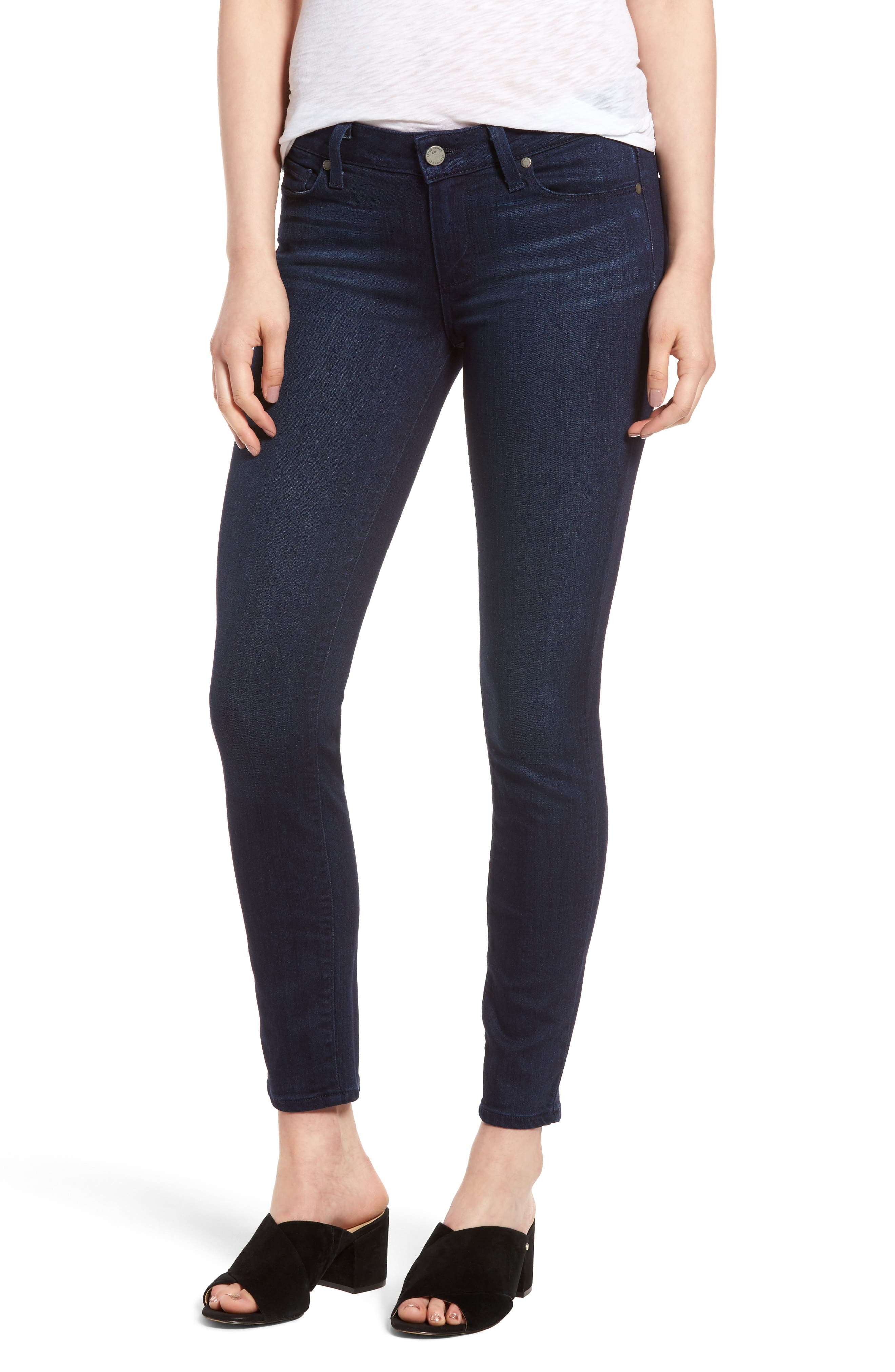 Verdugo Ankle Skinny Jeans,                             Main thumbnail 1, color,                             Bryce