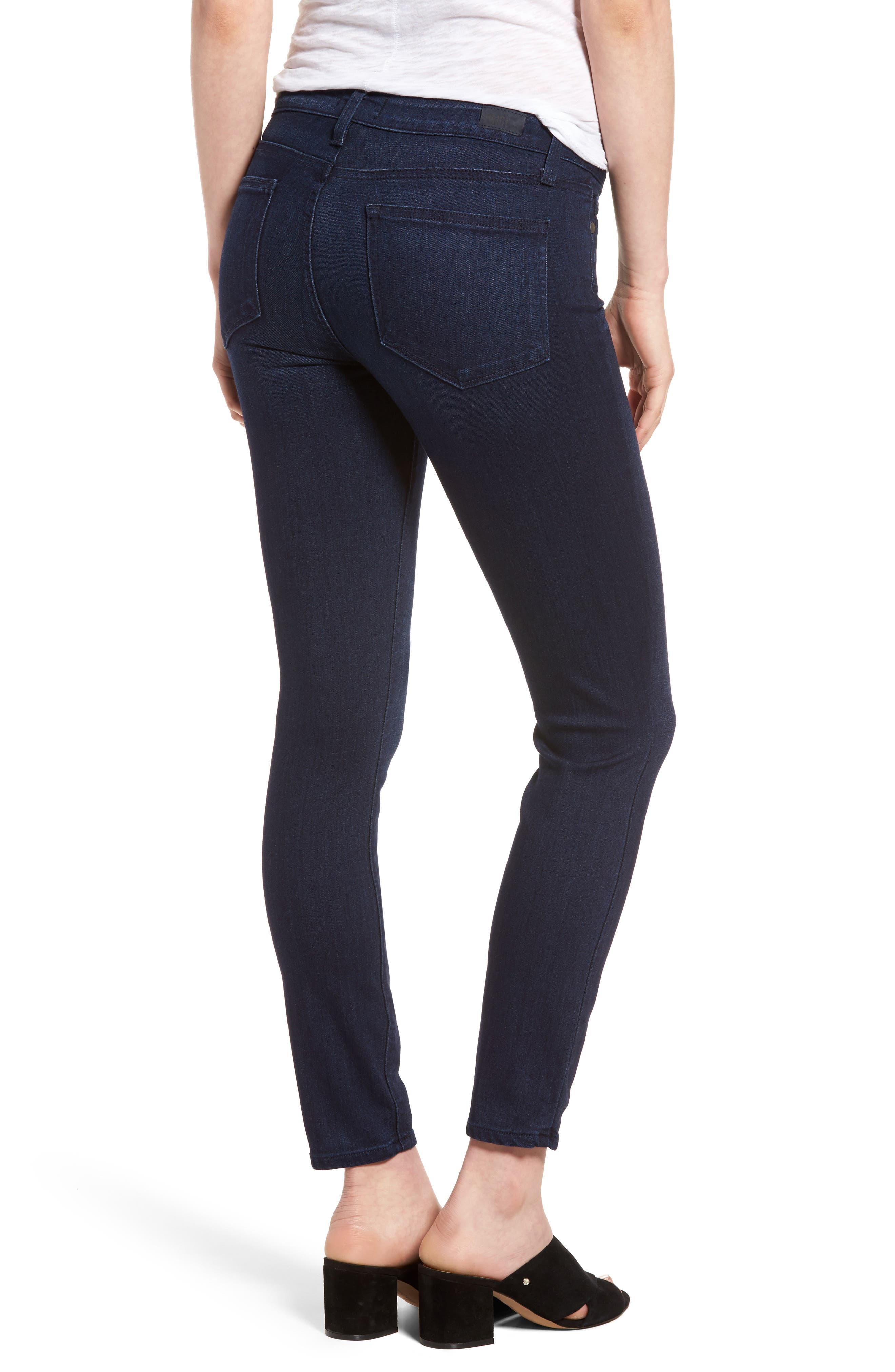 Verdugo Ankle Skinny Jeans,                             Alternate thumbnail 2, color,                             Bryce