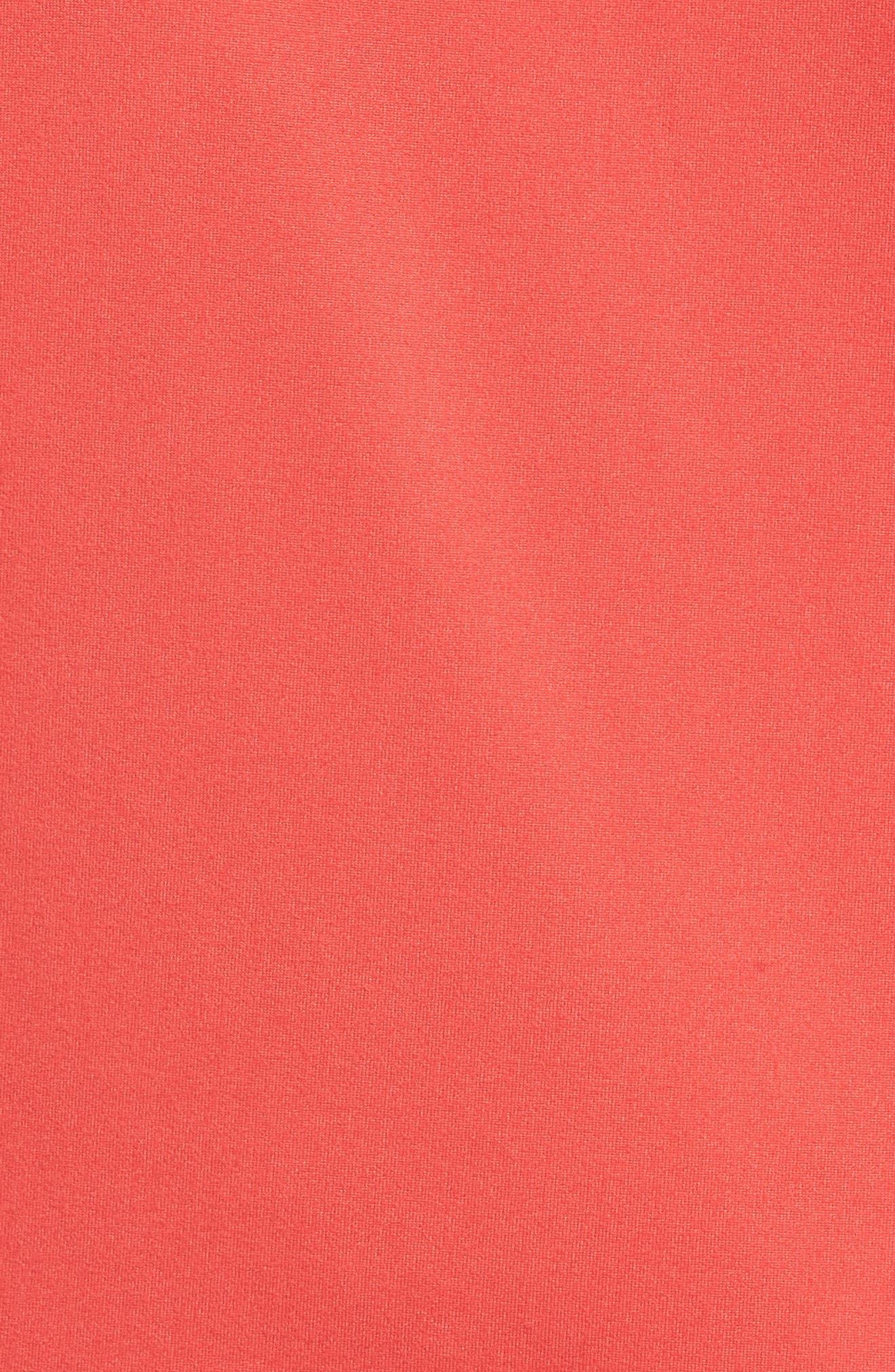 Alternate Image 5  - Halogen® Stretch Knit Top (Regular & Petite)