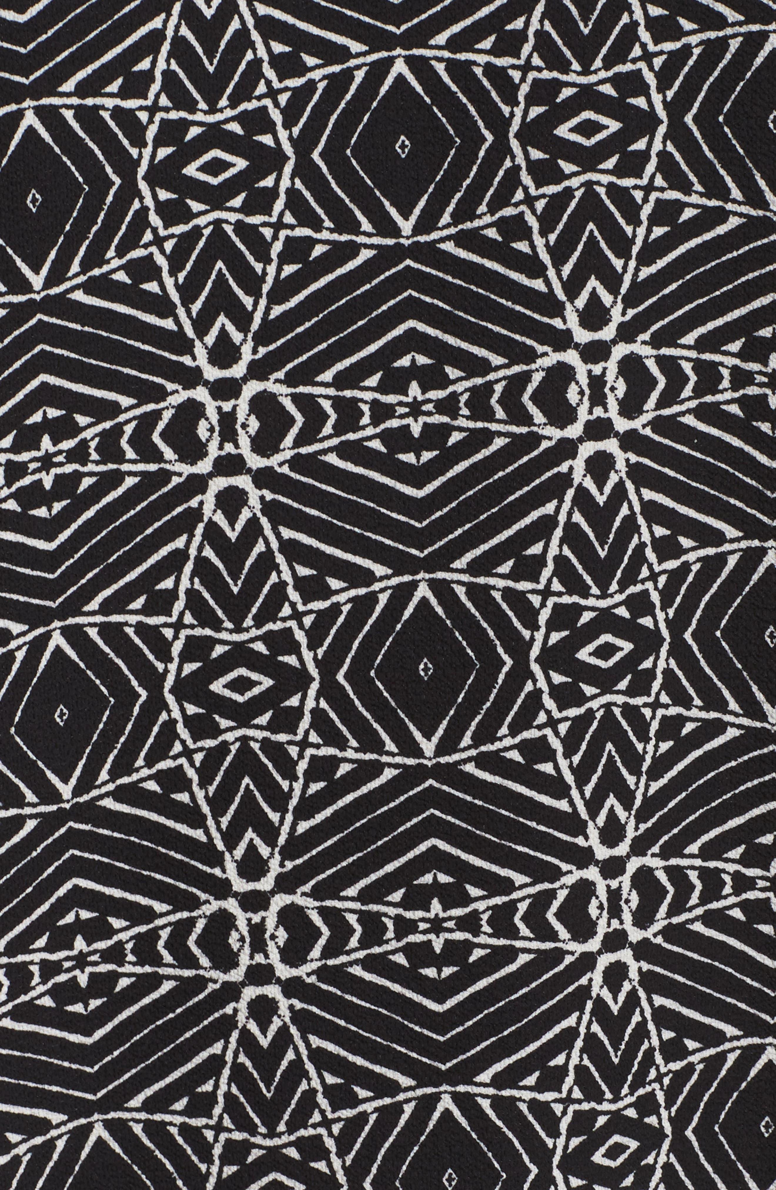 Alternate Image 5  - Vince Camuto Yoruba Graphic High/Low Top (Plus Size)