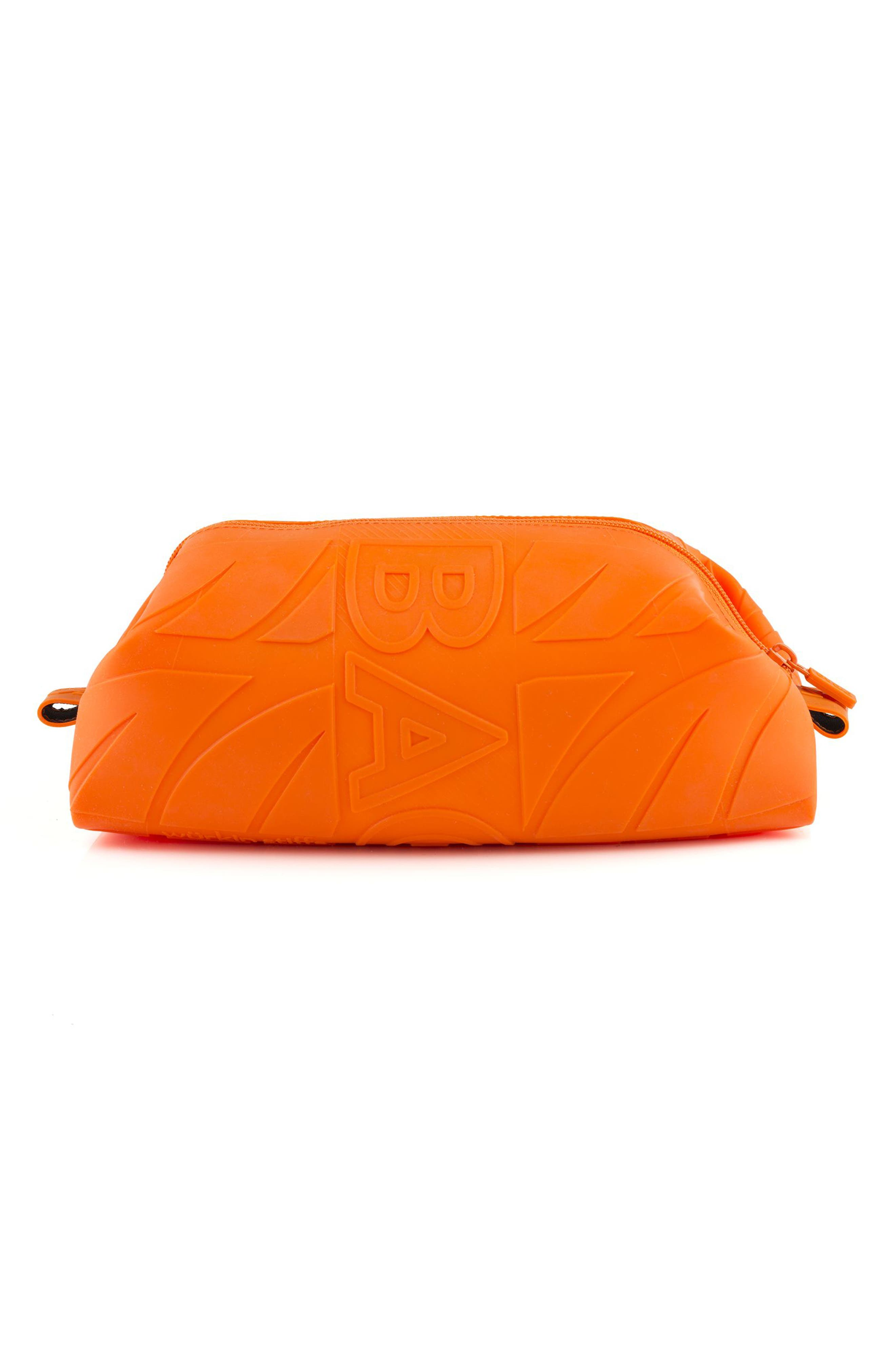 Silicone Travel Kit,                             Main thumbnail 1, color,                             Orange