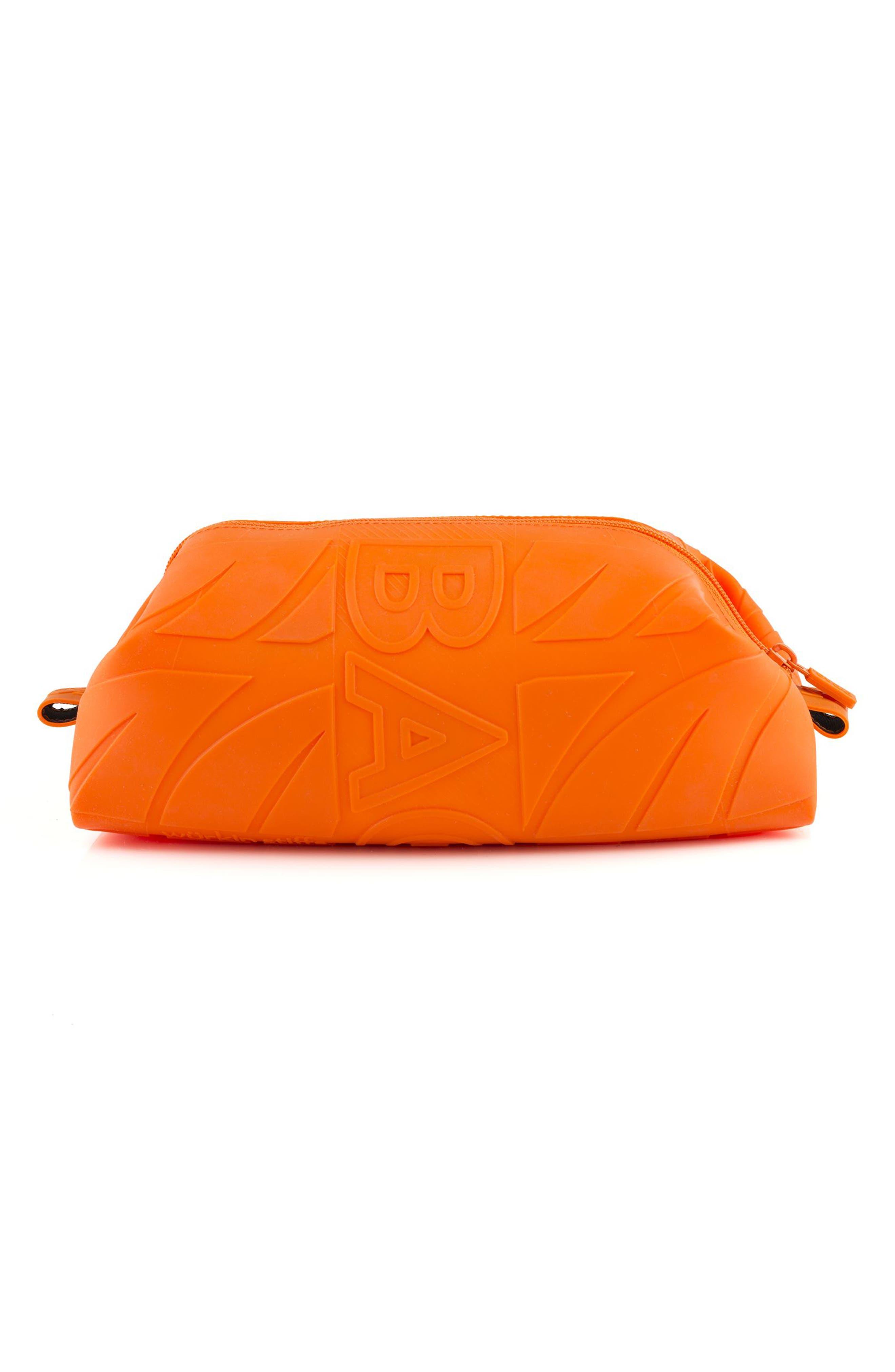 Silicone Travel Kit,                         Main,                         color, Orange