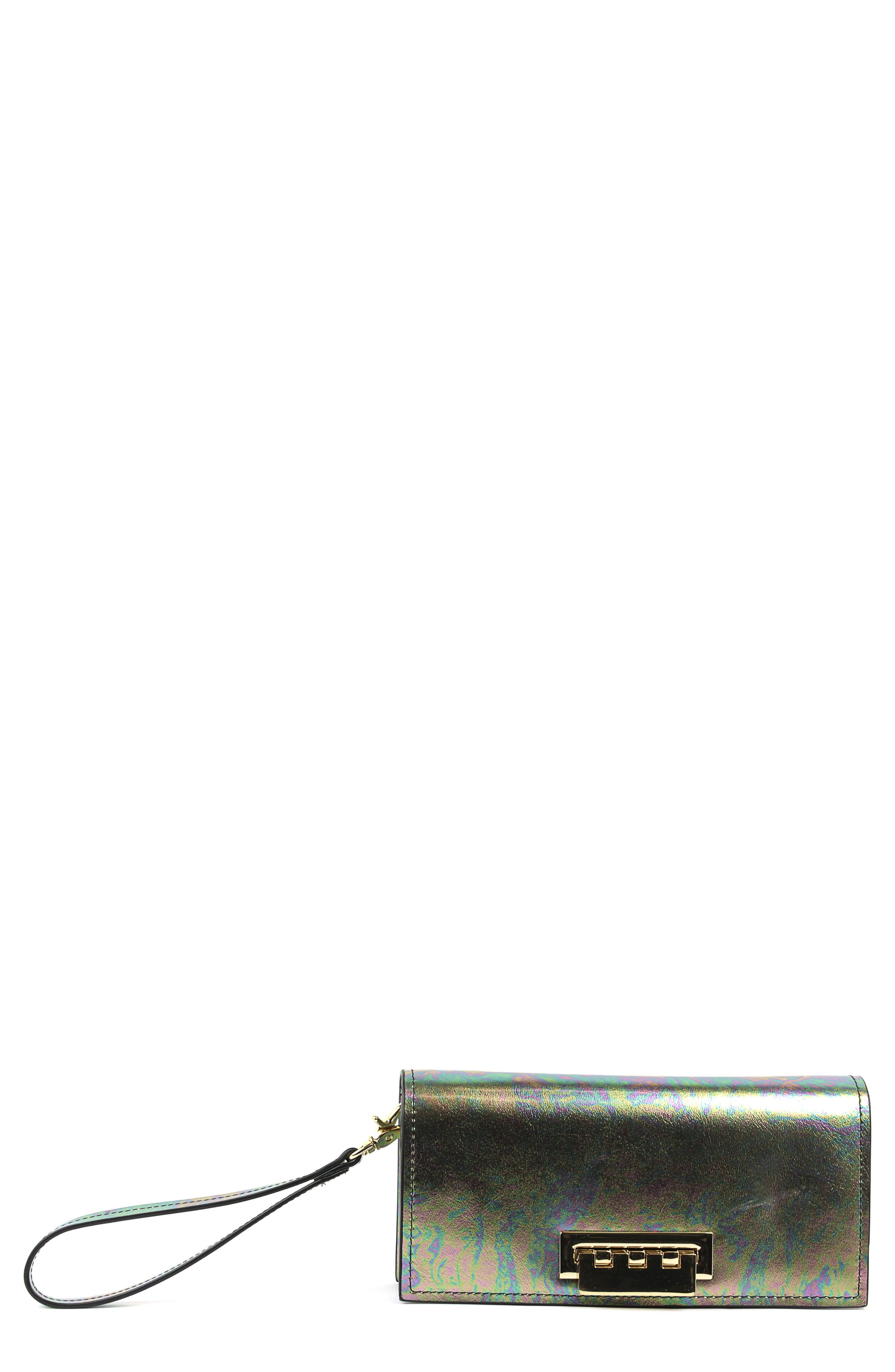 Earthette Wristlet,                         Main,                         color, Petrol